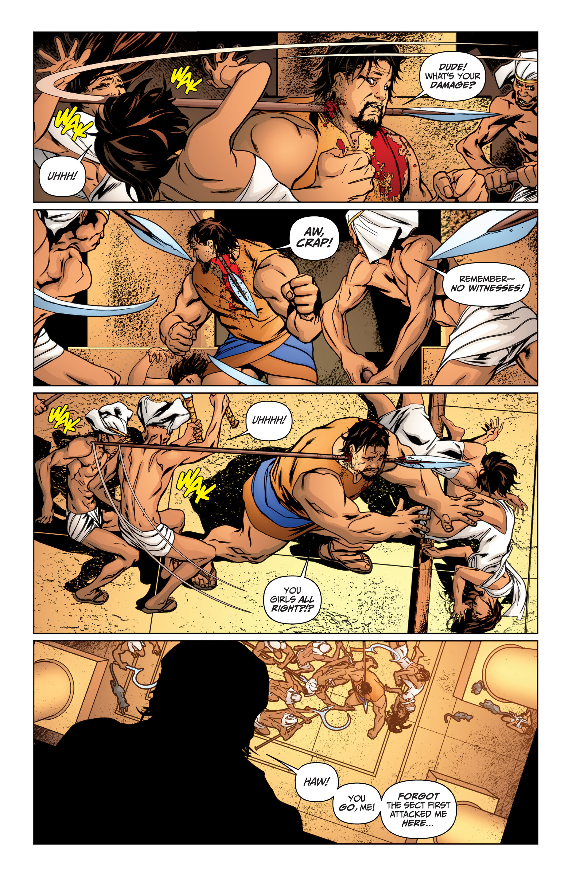 Read online Archer and Armstrong comic -  Issue #15 - 6