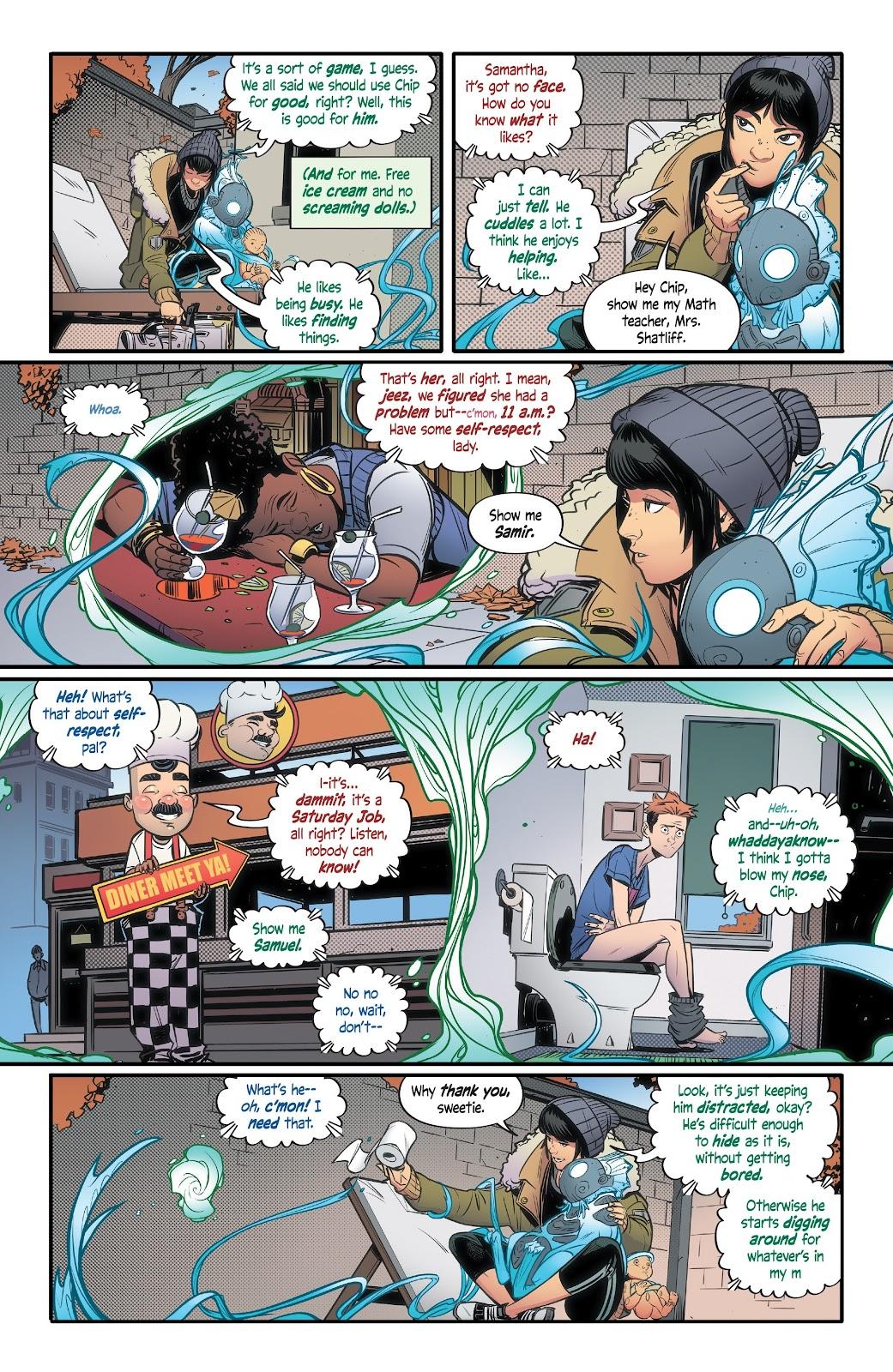 Read online Alienated comic -  Issue #3 - 7