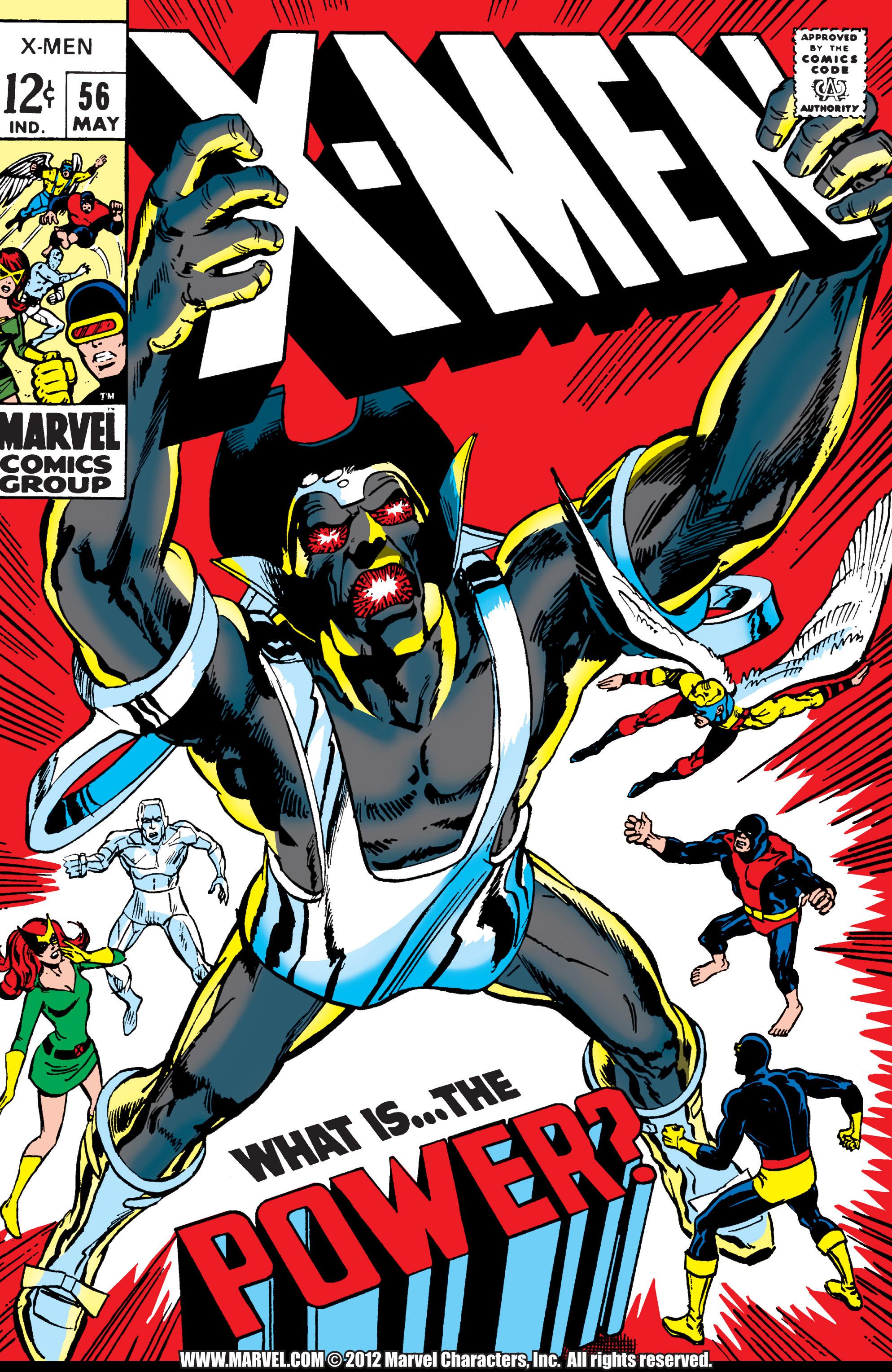 Uncanny X-Men (1963) 56 Page 1