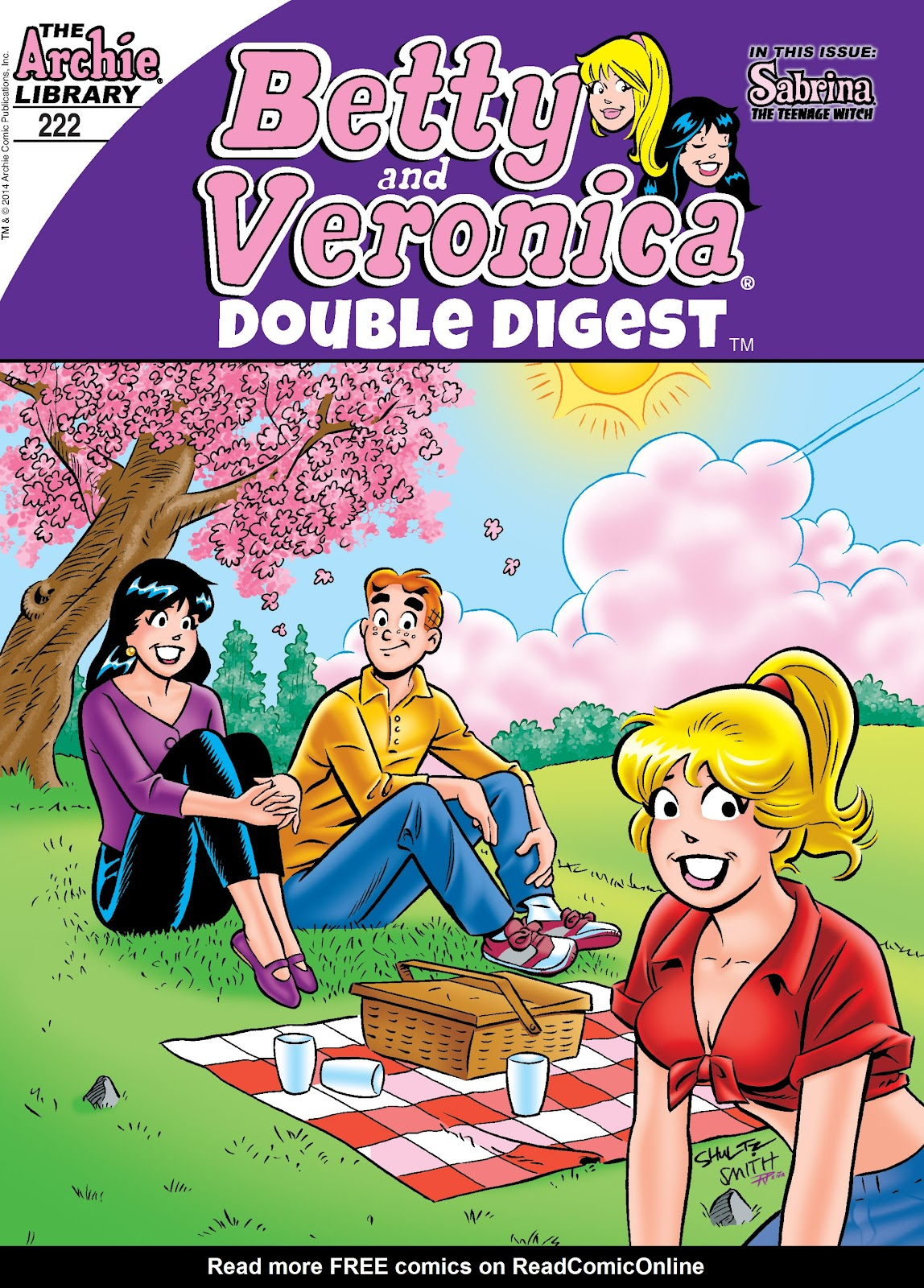 Betty and Veronica Double Digest 222 Page 1
