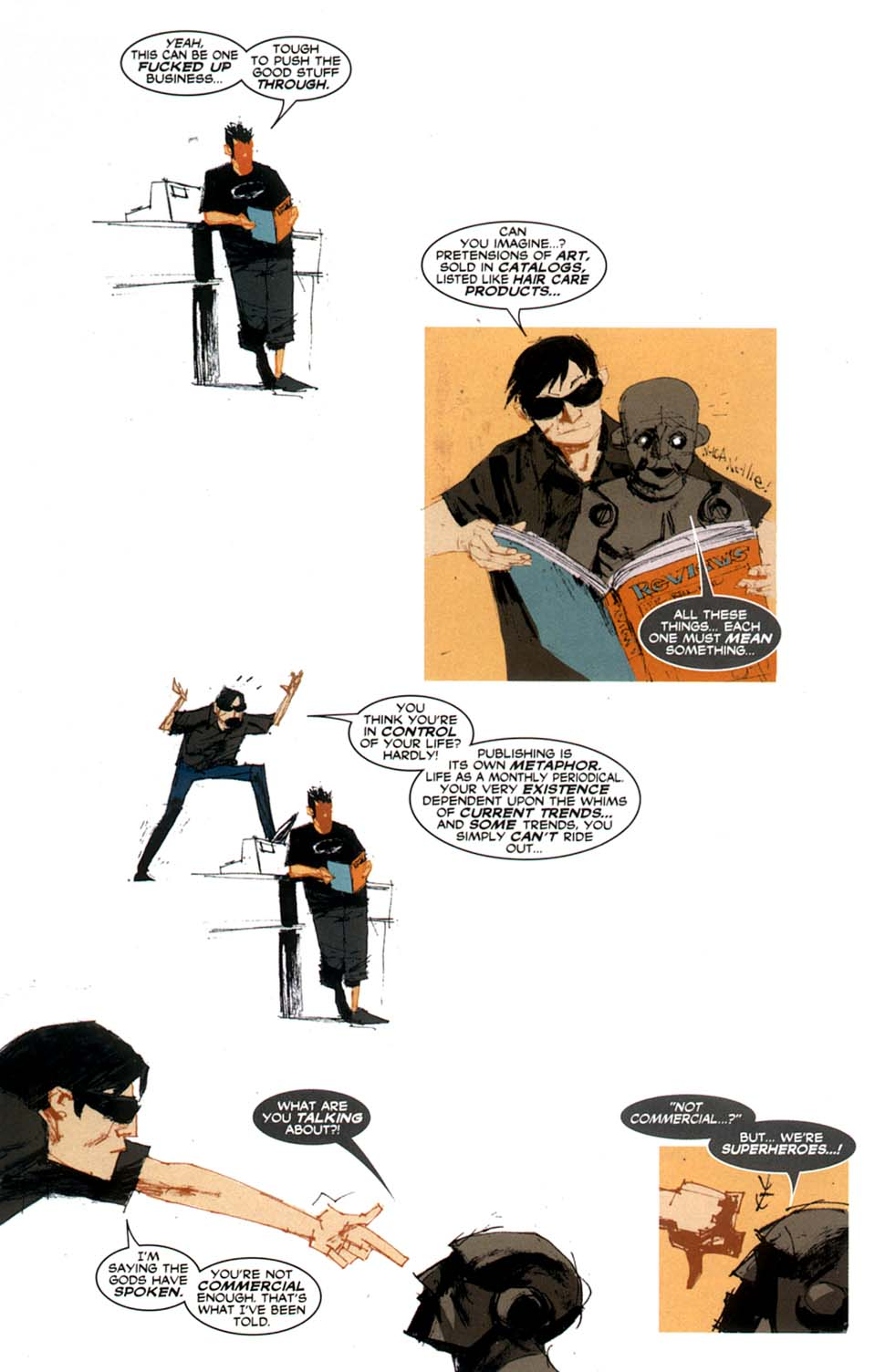 Read online Automatic Kafka comic -  Issue #9 - 15