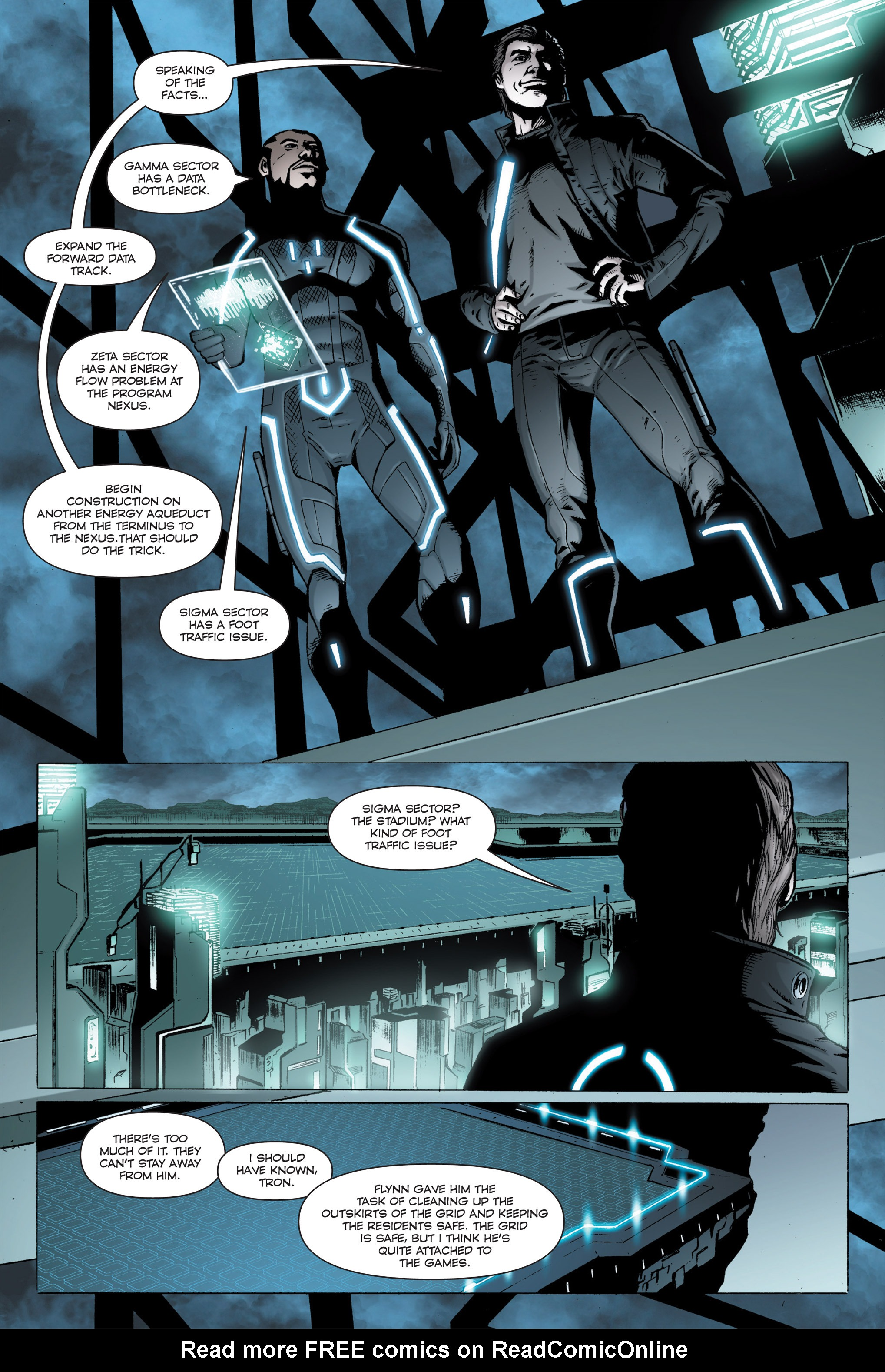Read online TRON: Betrayal comic -  Issue # TPB - 28