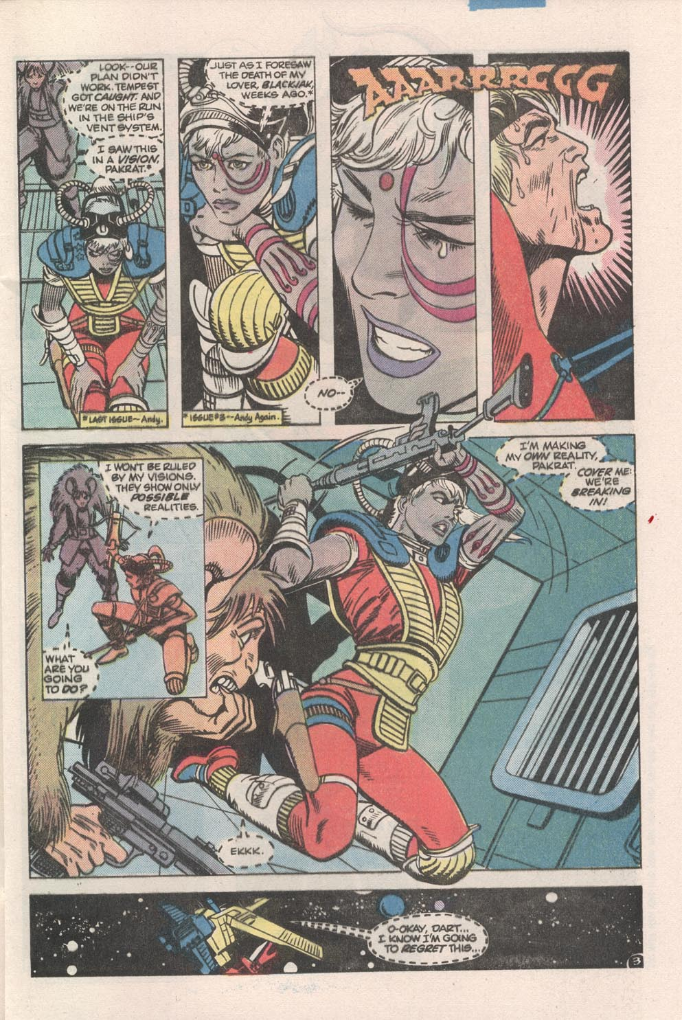 Read online Atari Force (1984) comic -  Issue #7 - 4