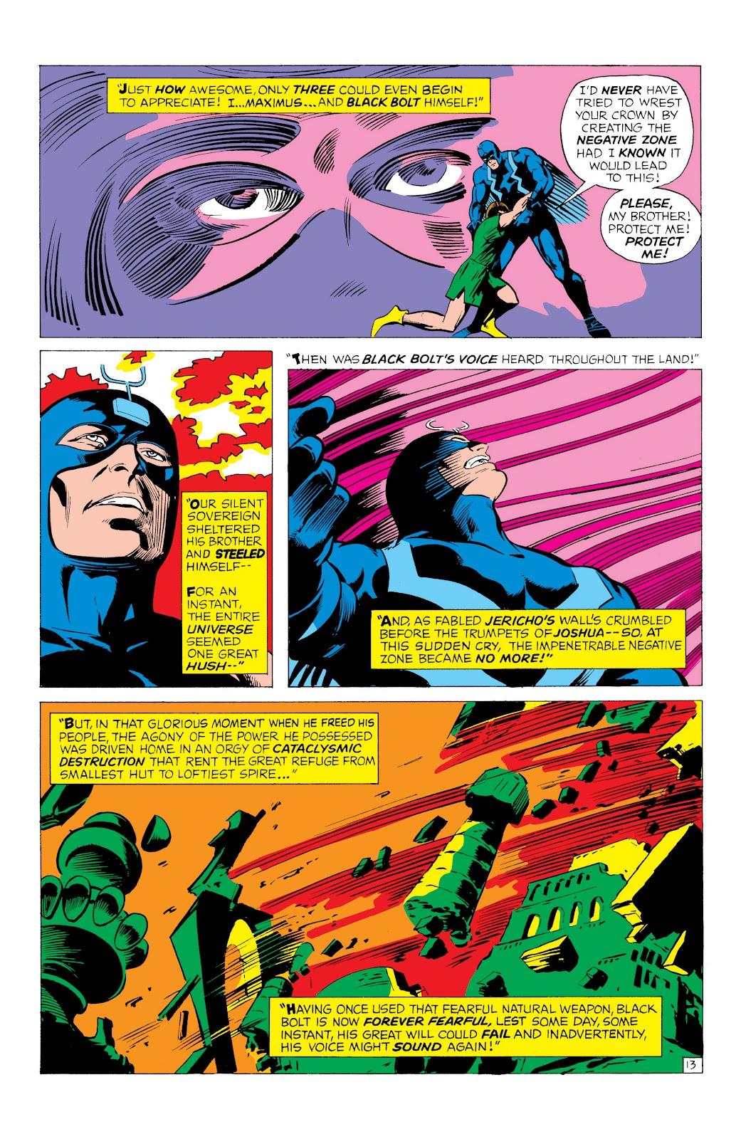 Read online Marvel Masterworks: The Inhumans comic -  Issue # TPB 1 (Part 1) - 56