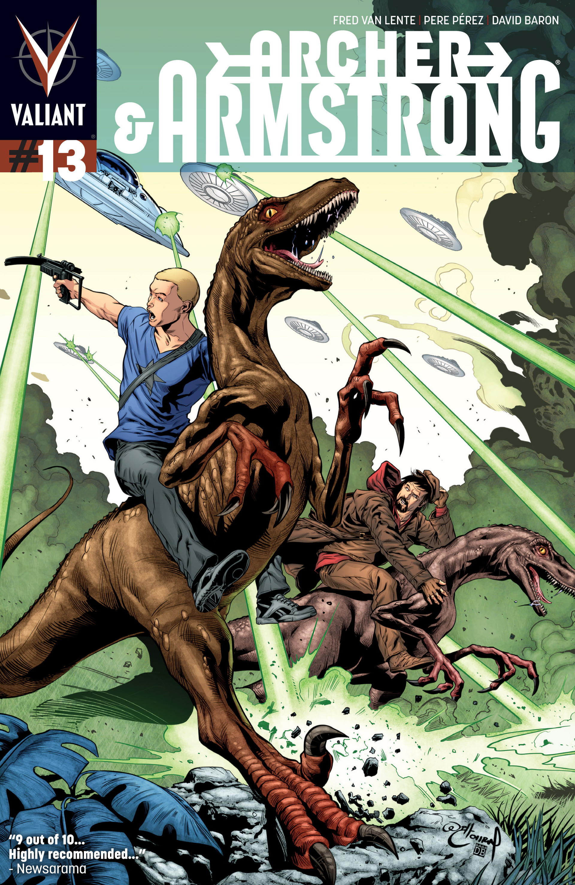 Read online Archer and Armstrong comic -  Issue #13 - 1