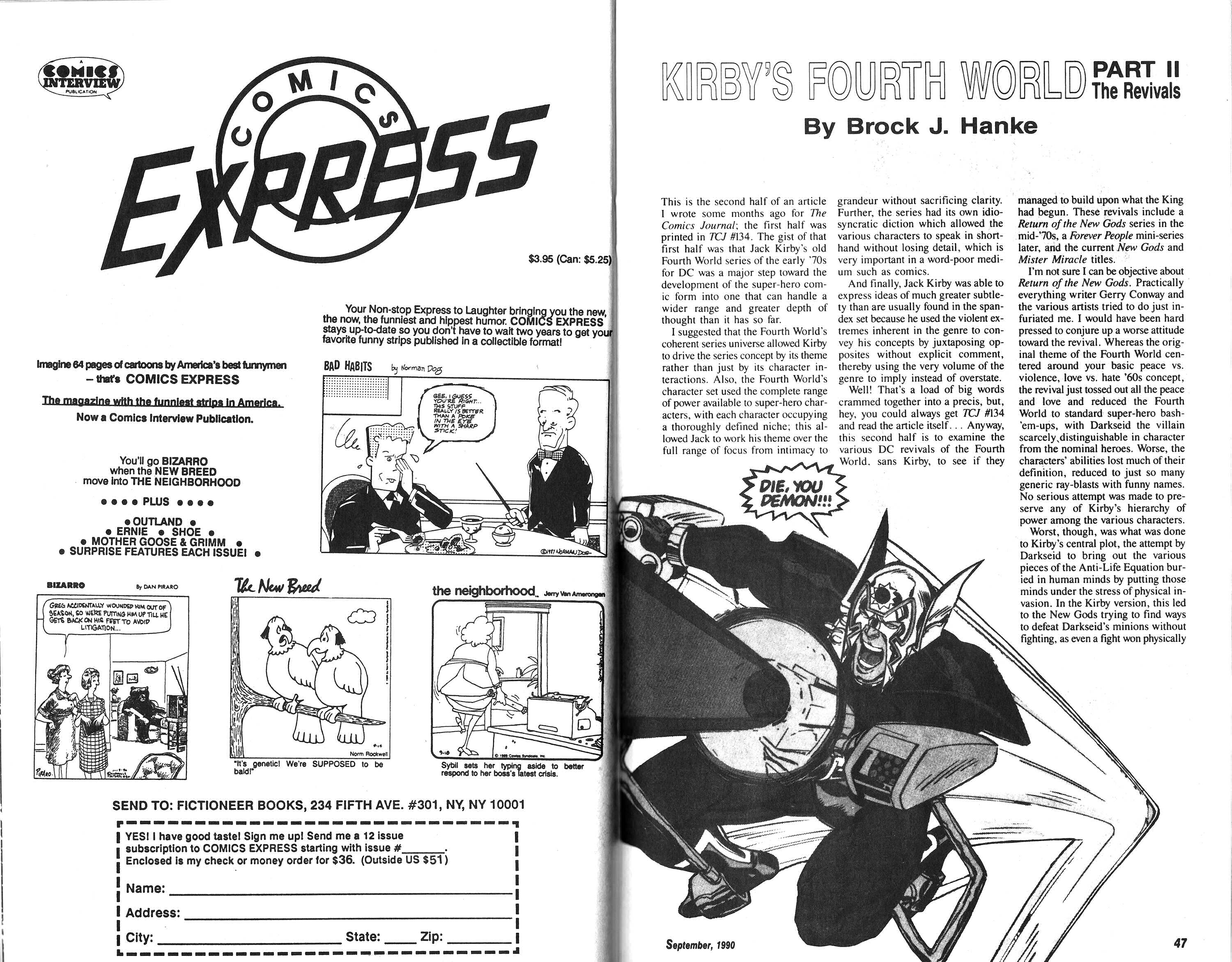 Read online Amazing Heroes comic -  Issue #183 - 24
