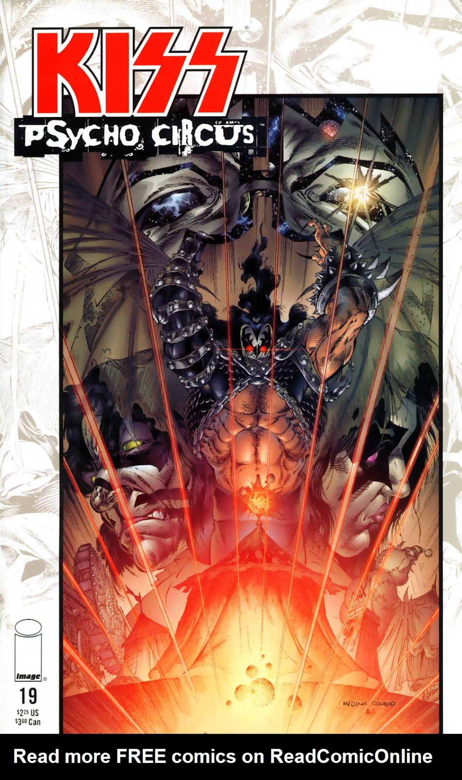 KISS: Psycho Circus issue 19 - Page 1