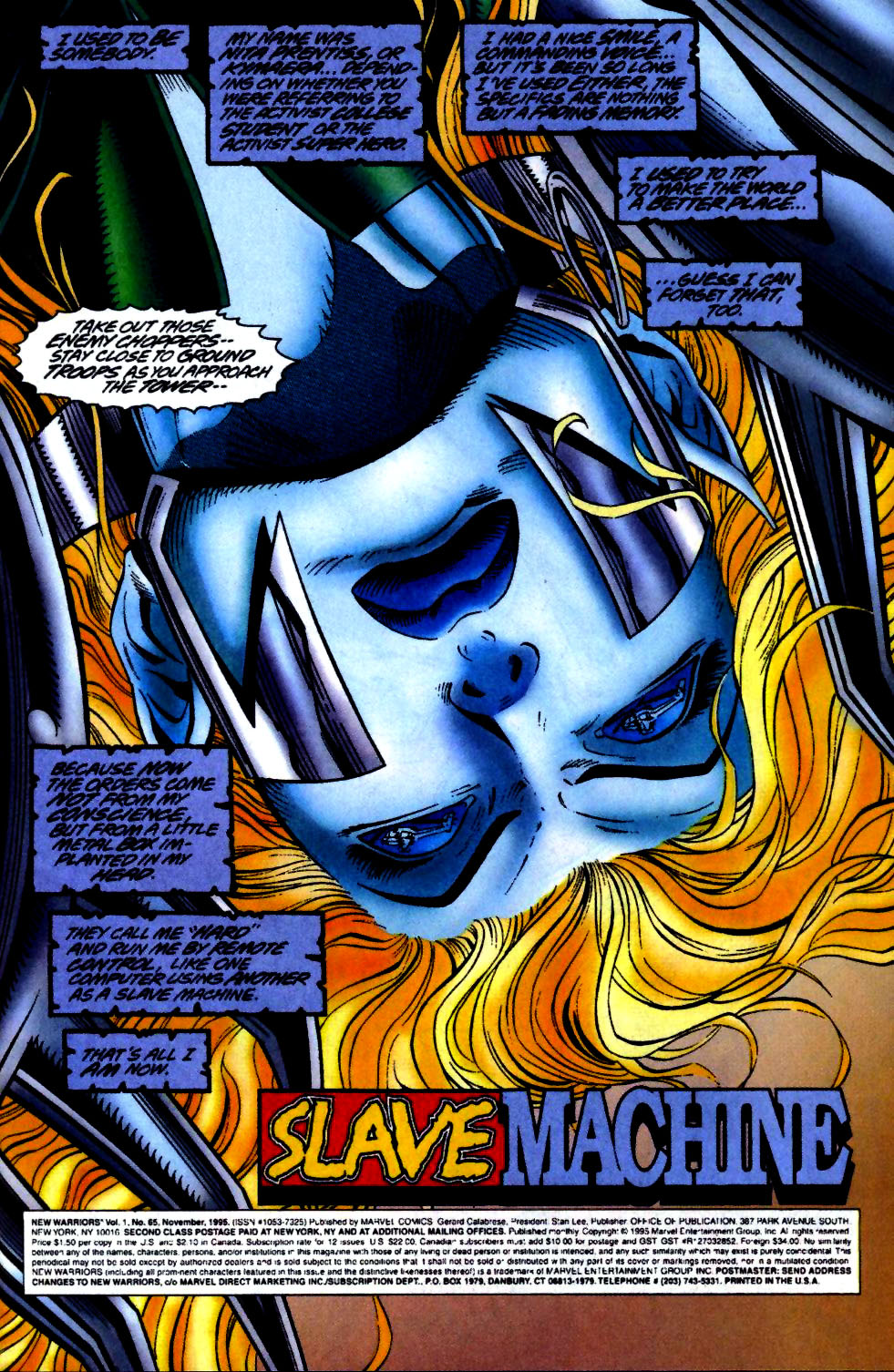 The New Warriors Issue #65 #69 - English 2