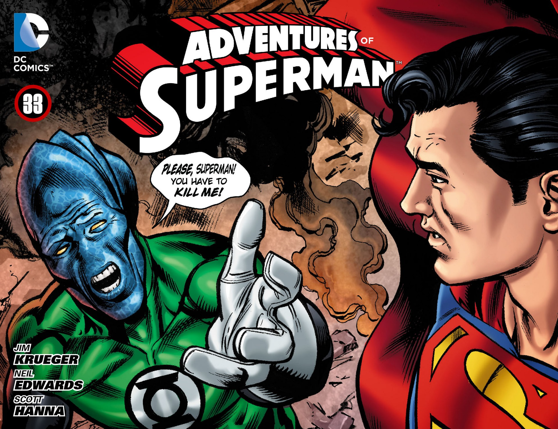 Read online Adventures of Superman [I] comic -  Issue #33 - 1