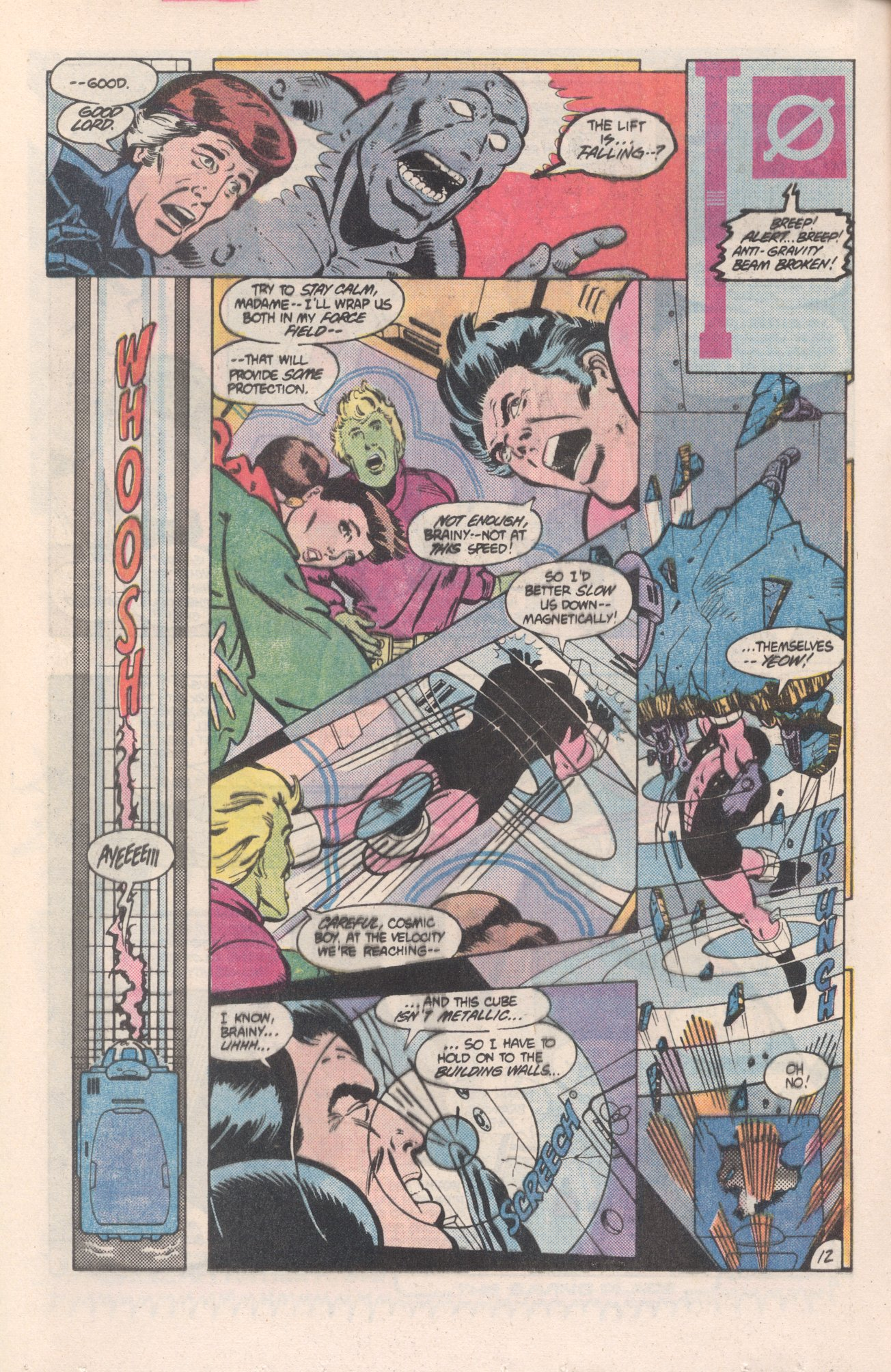 Legion of Super-Heroes (1980) 313 Page 12
