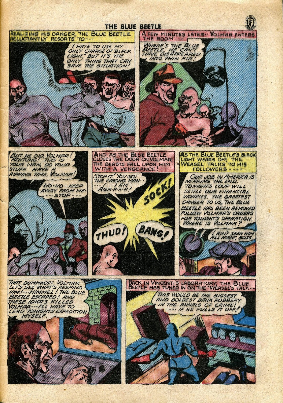 The Blue Beetle issue 34 - Page 40