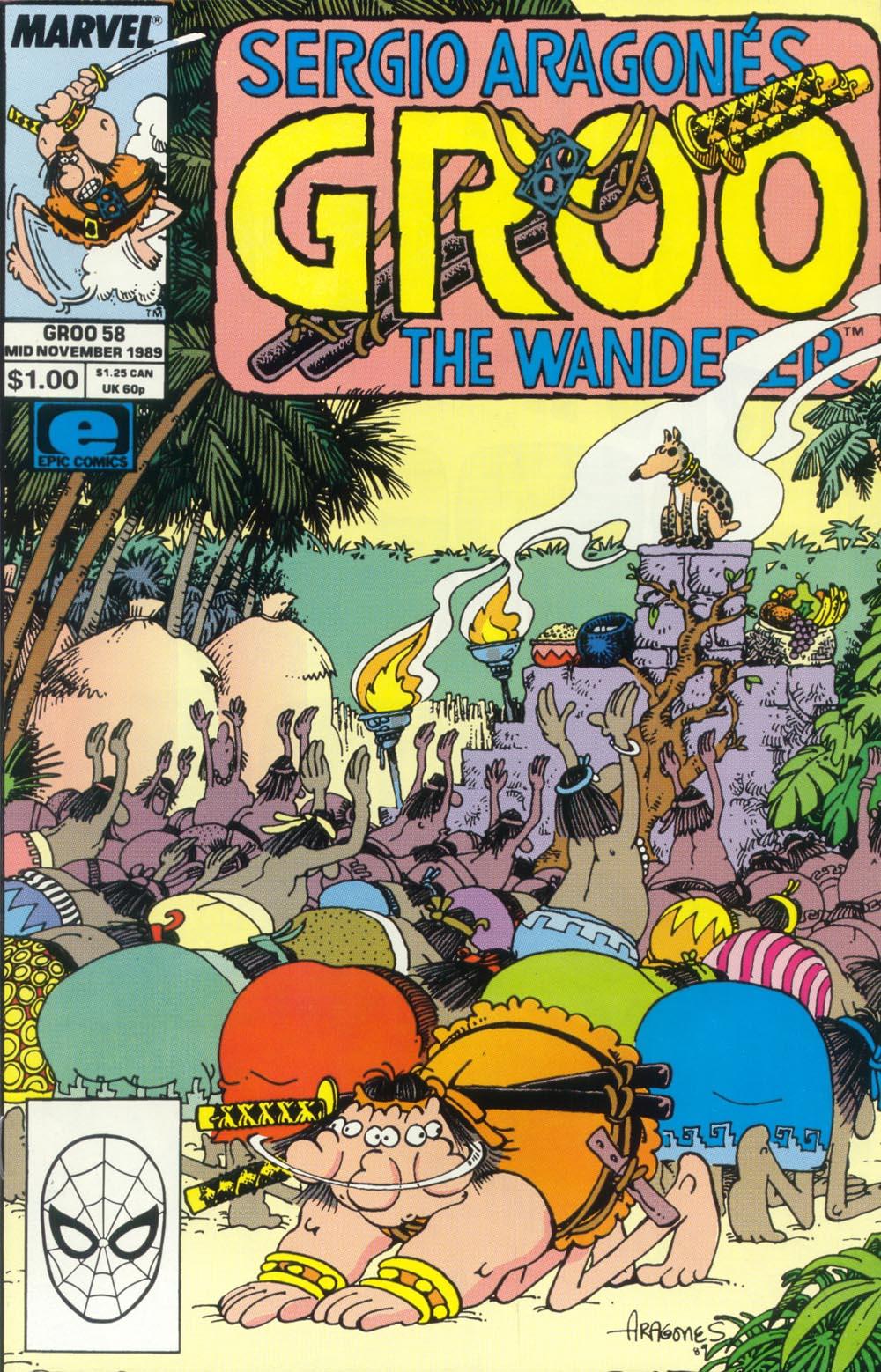 Read online Sergio Aragonés Groo the Wanderer comic -  Issue #58 - 1