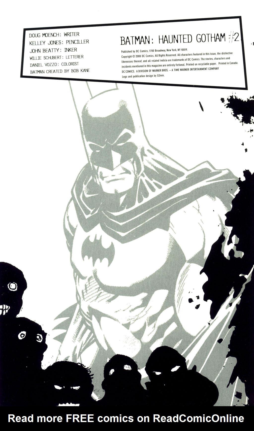 Read online Batman: Haunted Gotham comic -  Issue #2 - 2