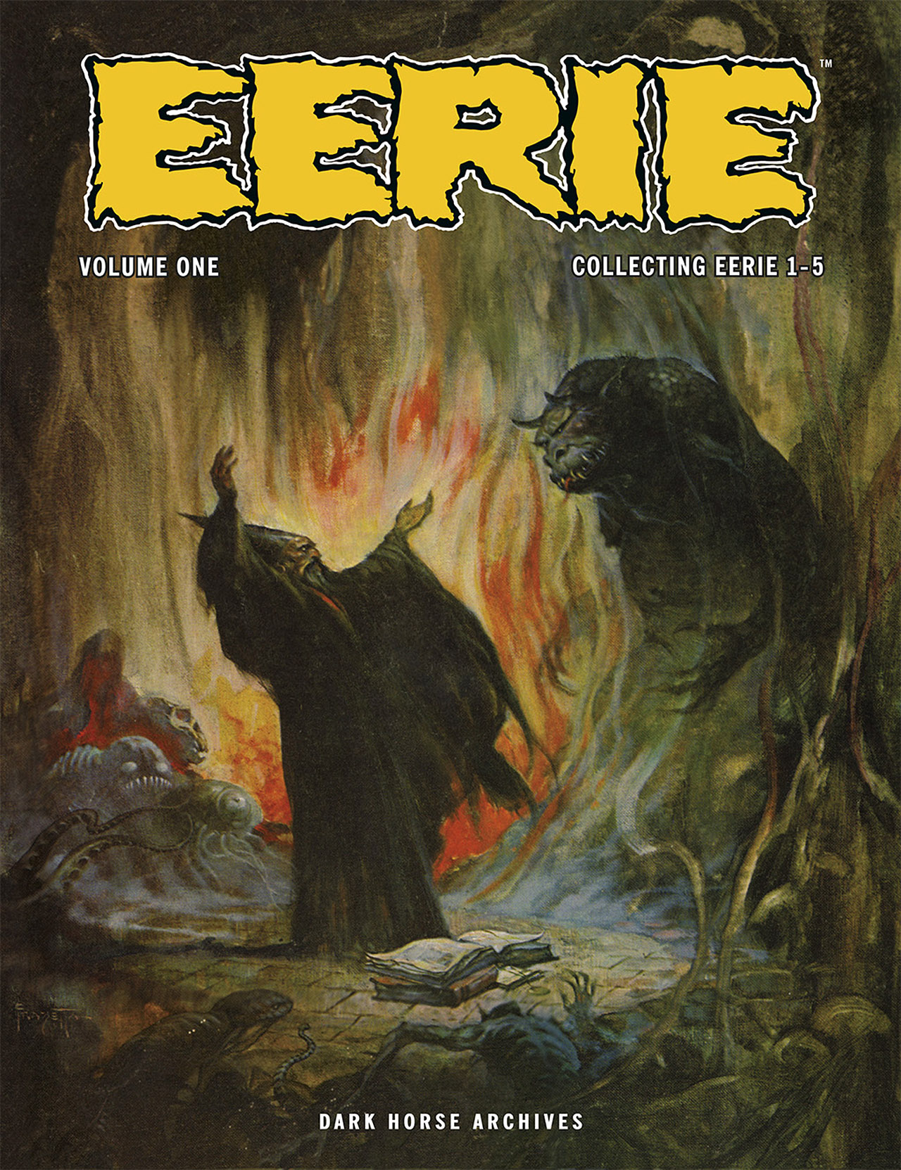 Read online Eerie Archives comic -  Issue # TPB 1 - 1