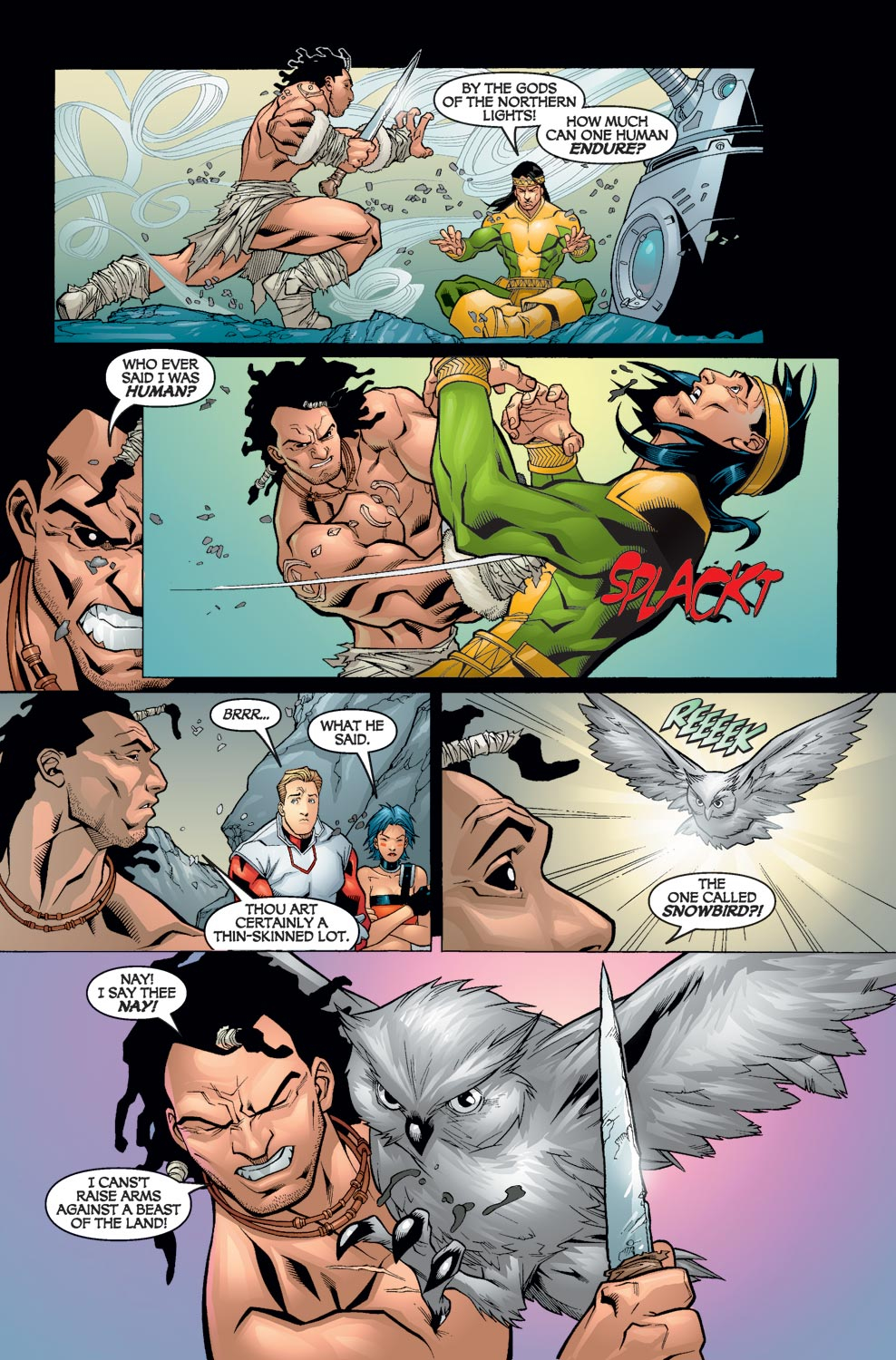Alpha Flight (2004) issue 5 - Page 18