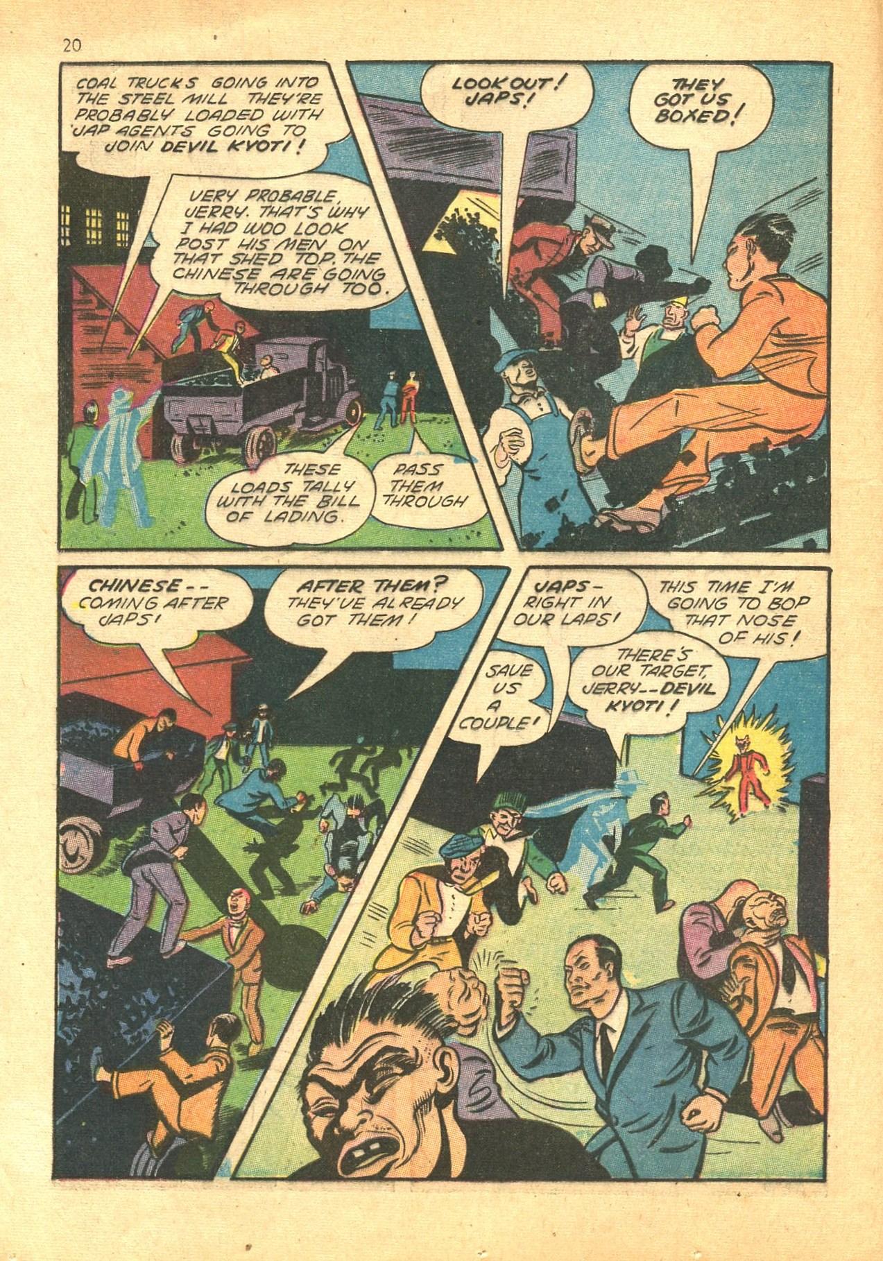 Read online Shadow Comics comic -  Issue #24 - 20