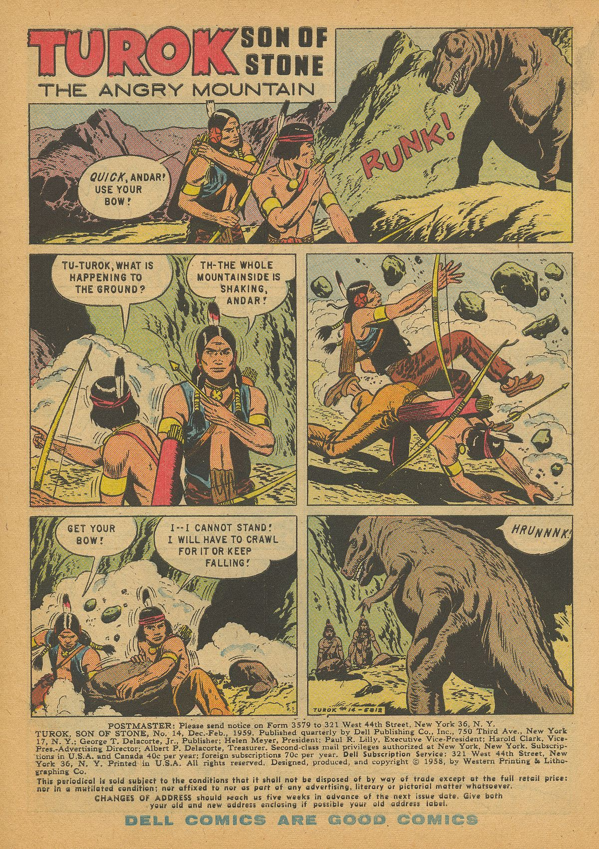 Read online Turok, Son of Stone comic -  Issue #14 - 3