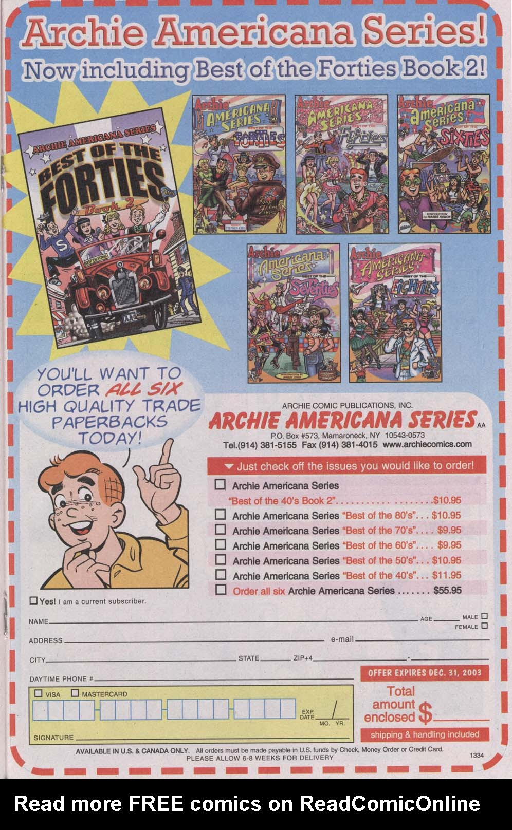 Read online Archie (1960) comic -  Issue #541 - 19