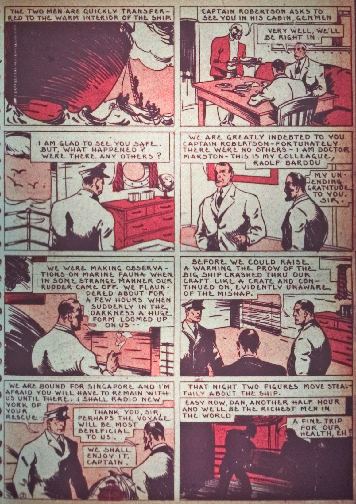 Read online Detective Comics (1937) comic -  Issue #26 - 49