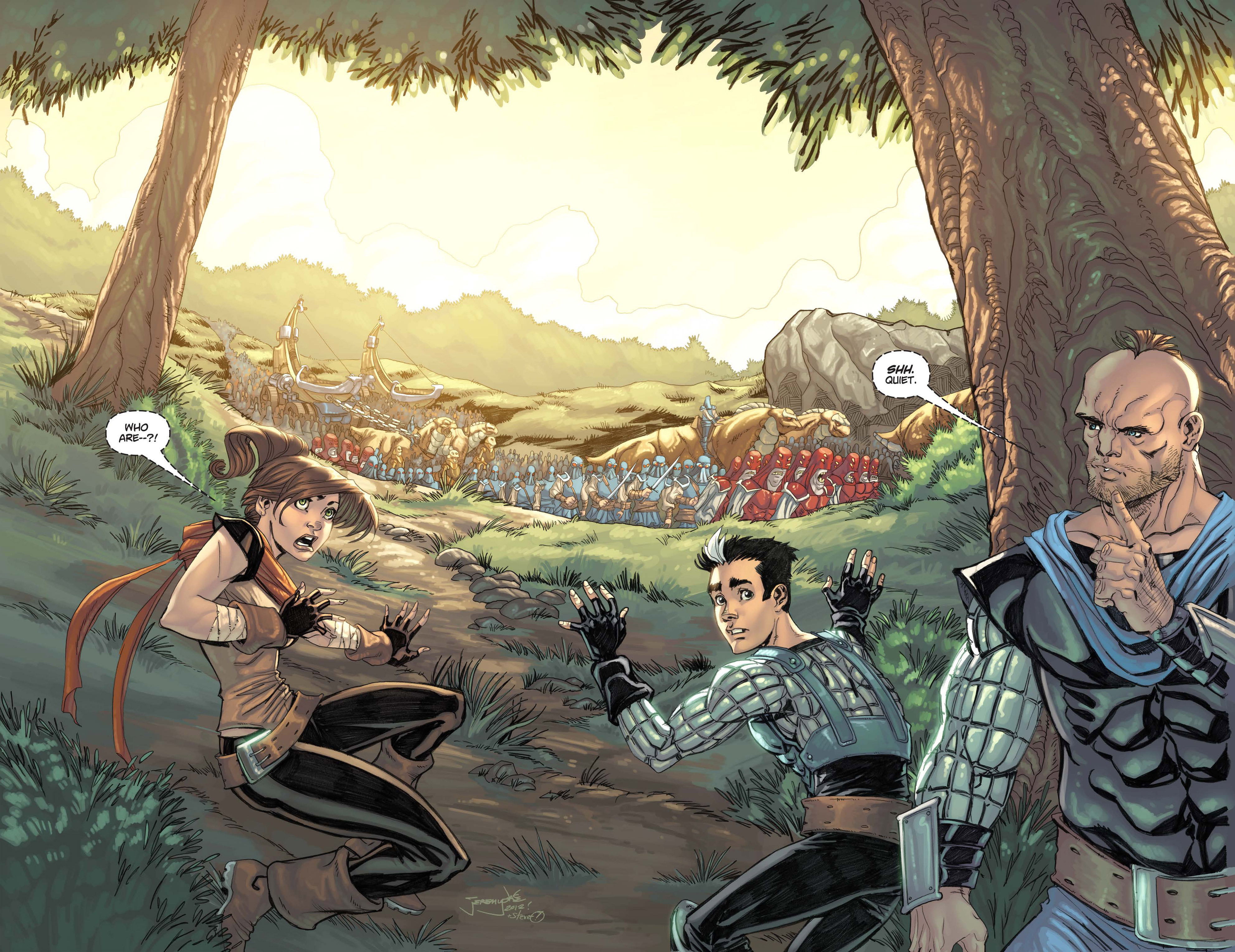 Read online Skyward comic -  Issue #3 - 14