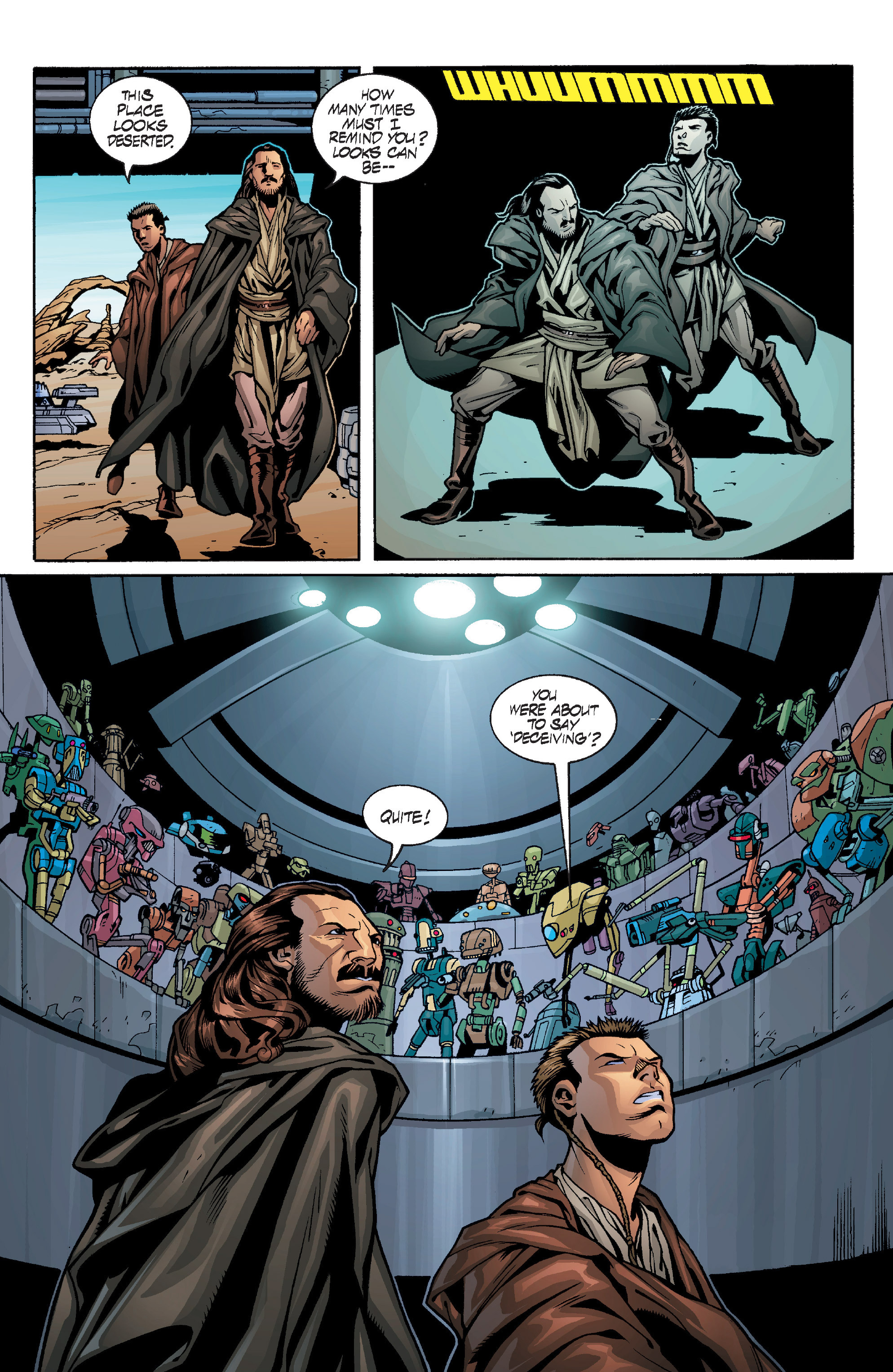 Read online Star Wars: Qui-Gon & Obi-Wan - Last Stand on Ord Mantell comic -  Issue #1 - 24