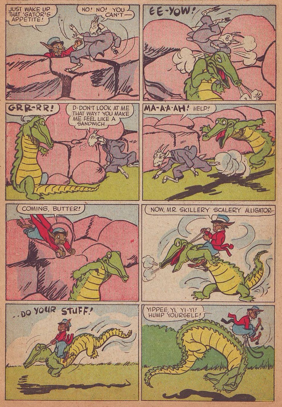 Read online Animal Comics comic -  Issue #16 - 7