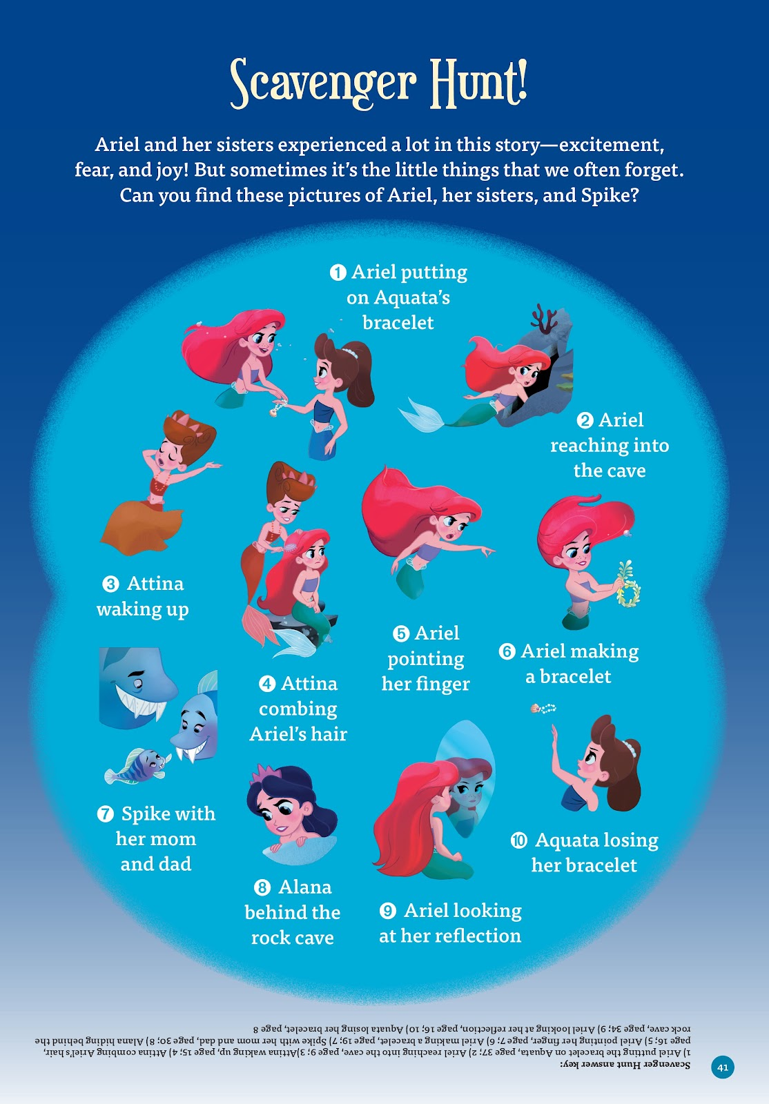 Read online Disney Princess: Ariel and the Sea Wolf comic -  Issue # Full - 38