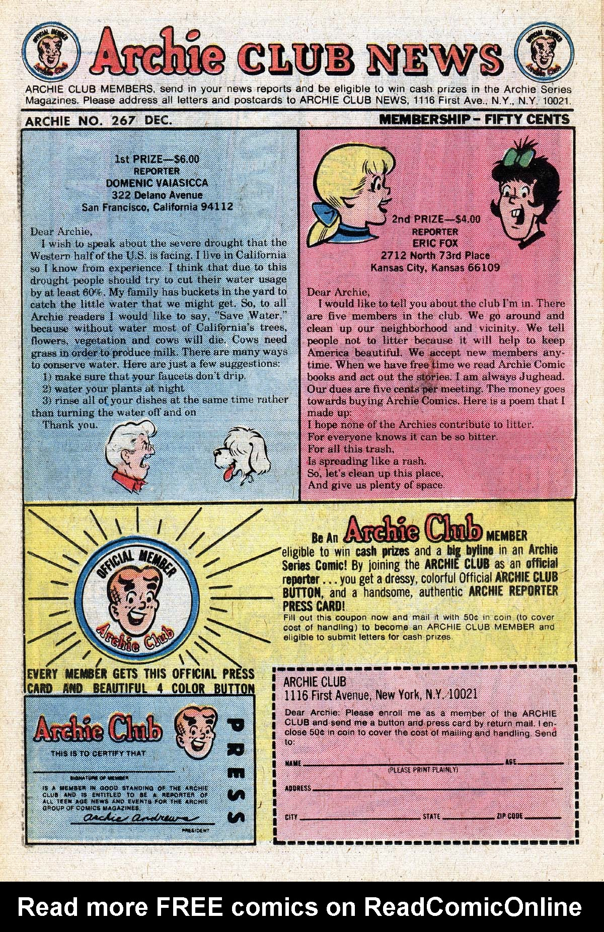 Read online Archie (1960) comic -  Issue #267 - 26