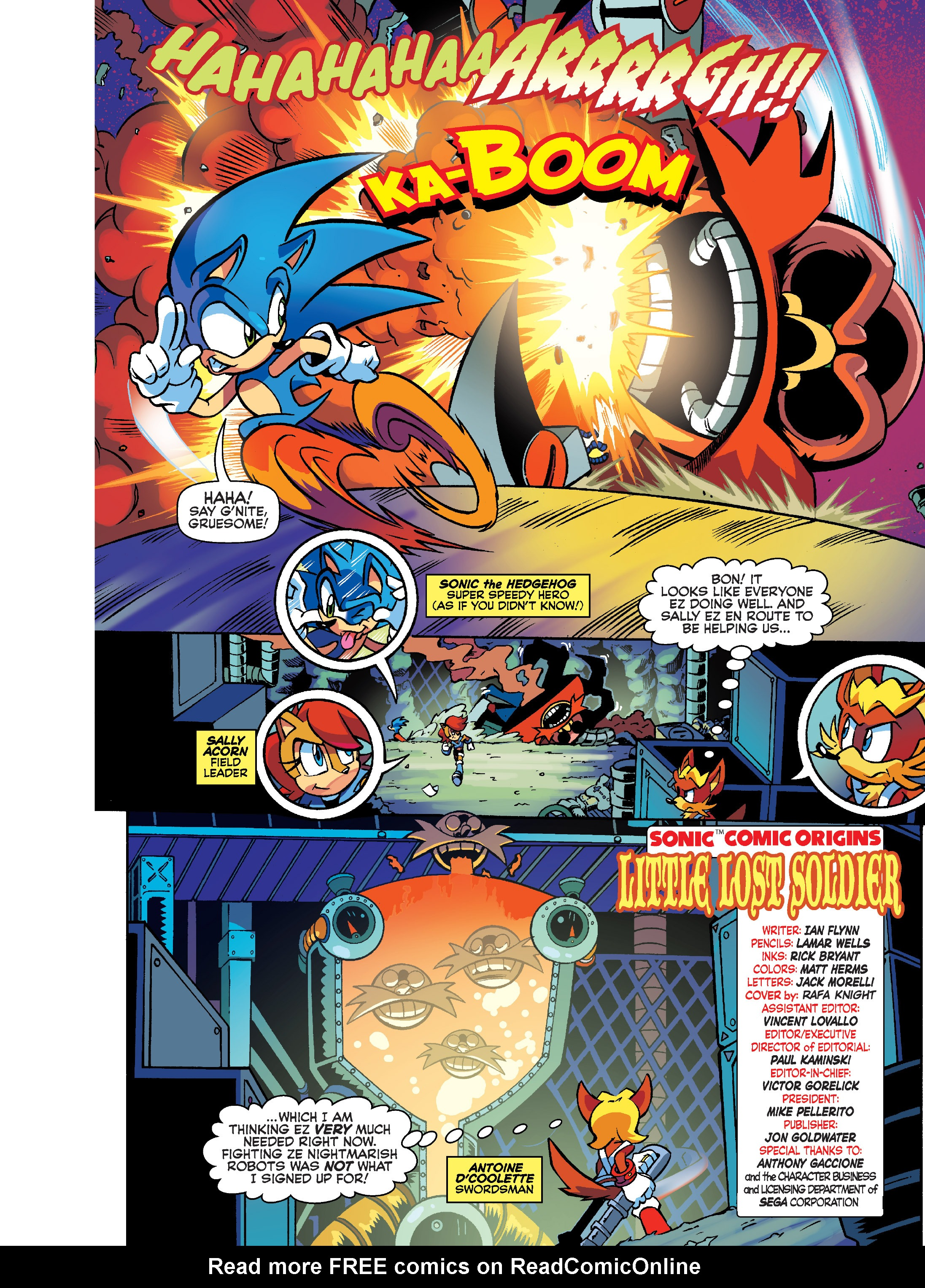 Read online Sonic Super Digest comic -  Issue #8 - 2