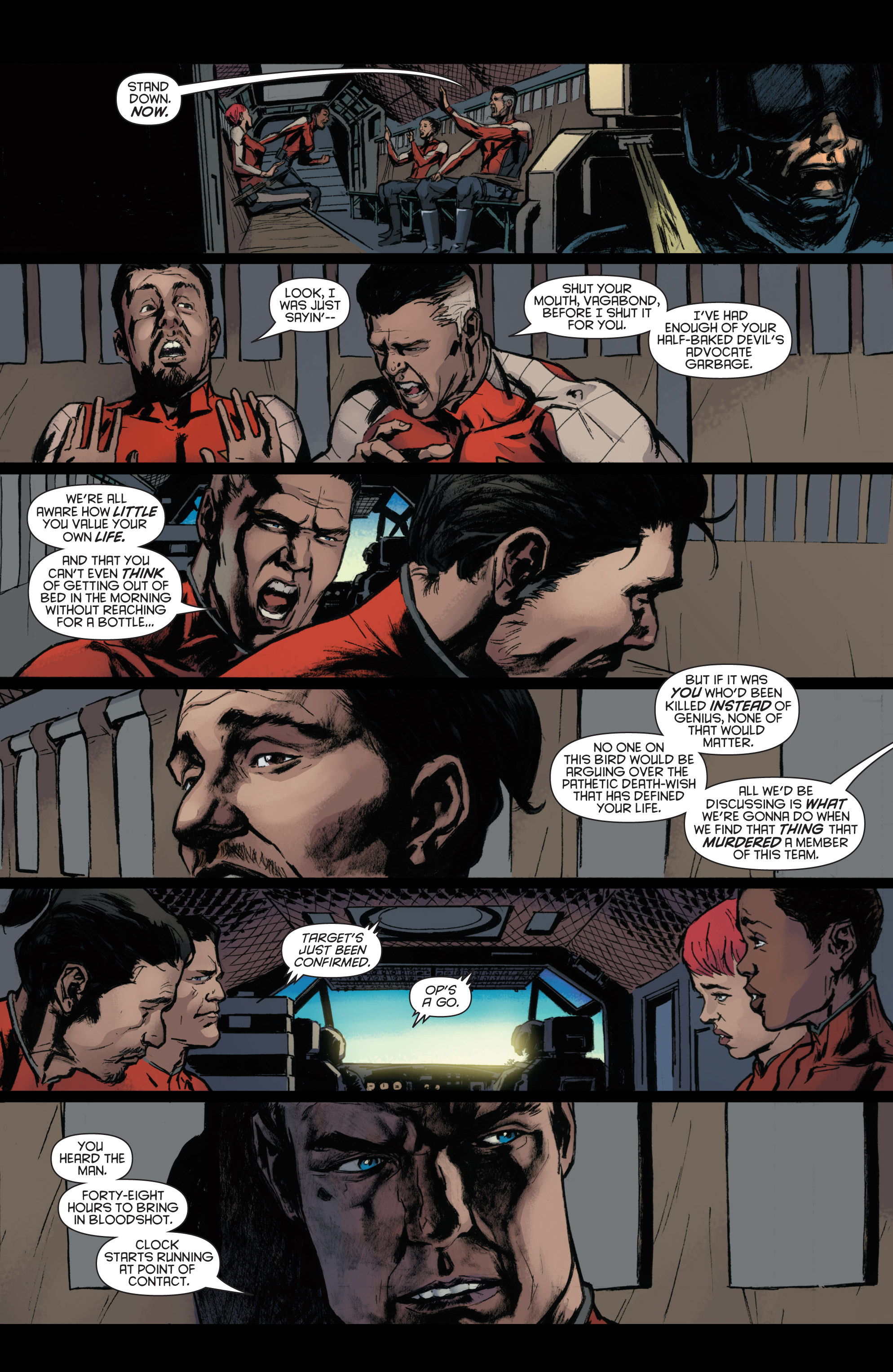 Read online Bloodshot and H.A.R.D.Corps comic -  Issue #22 - 15