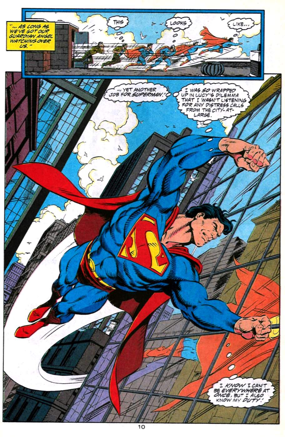 Read online Adventures of Superman (1987) comic -  Issue #491 - 11