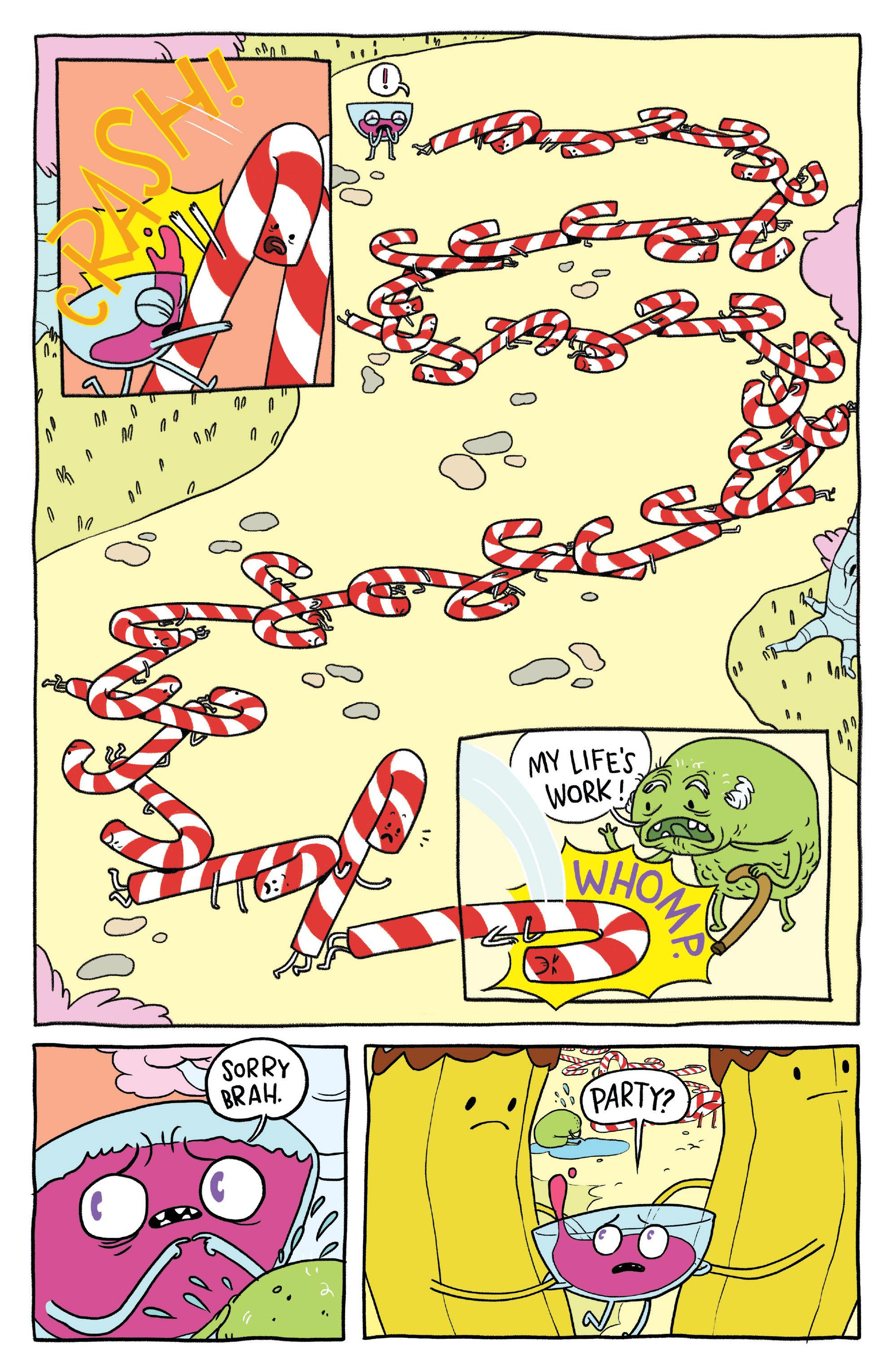 Read online Adventure Time: Banana Guard Academ comic -  Issue #1 - 23
