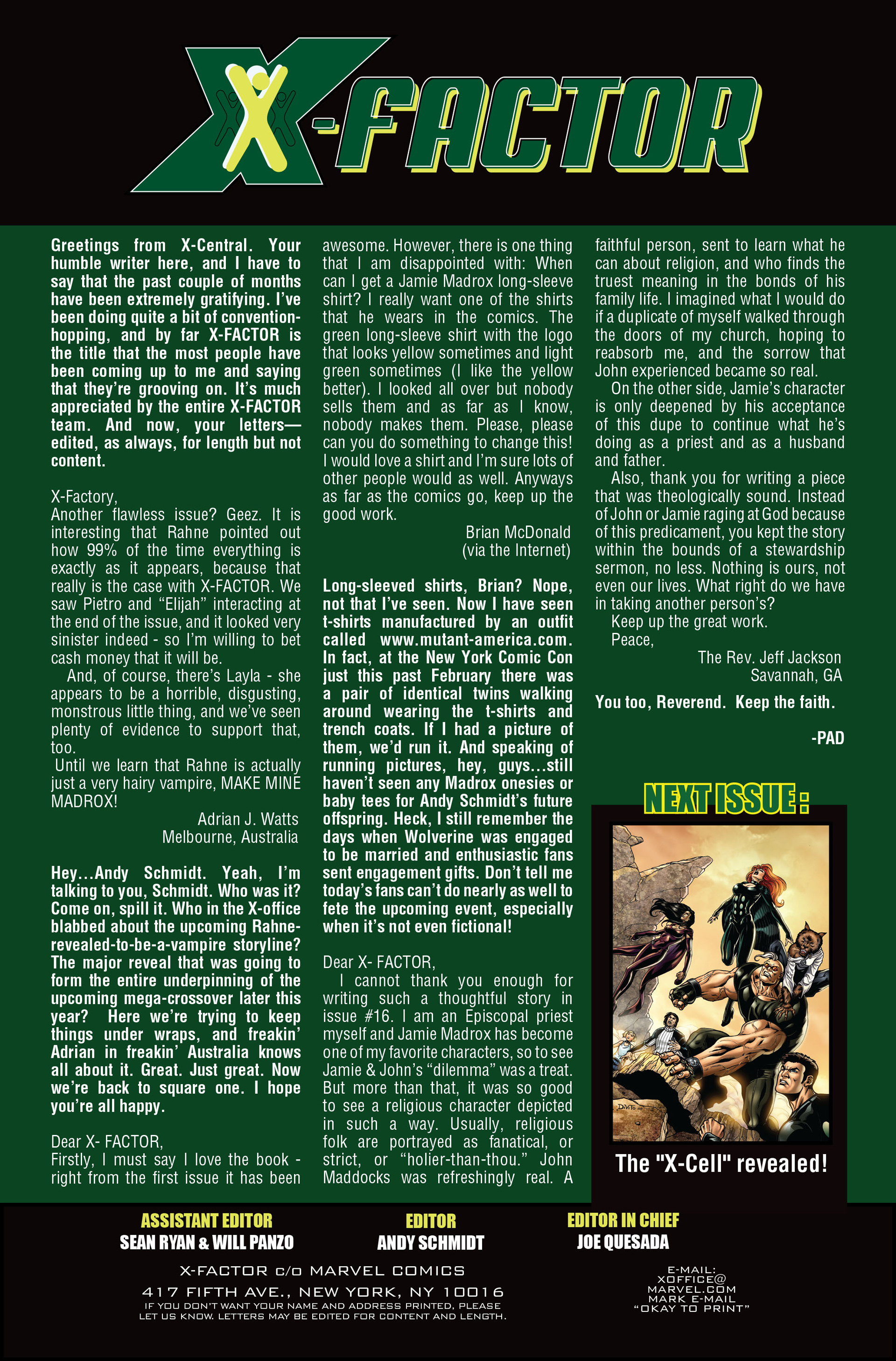 Read online X-Factor (2006) comic -  Issue #18 - 25