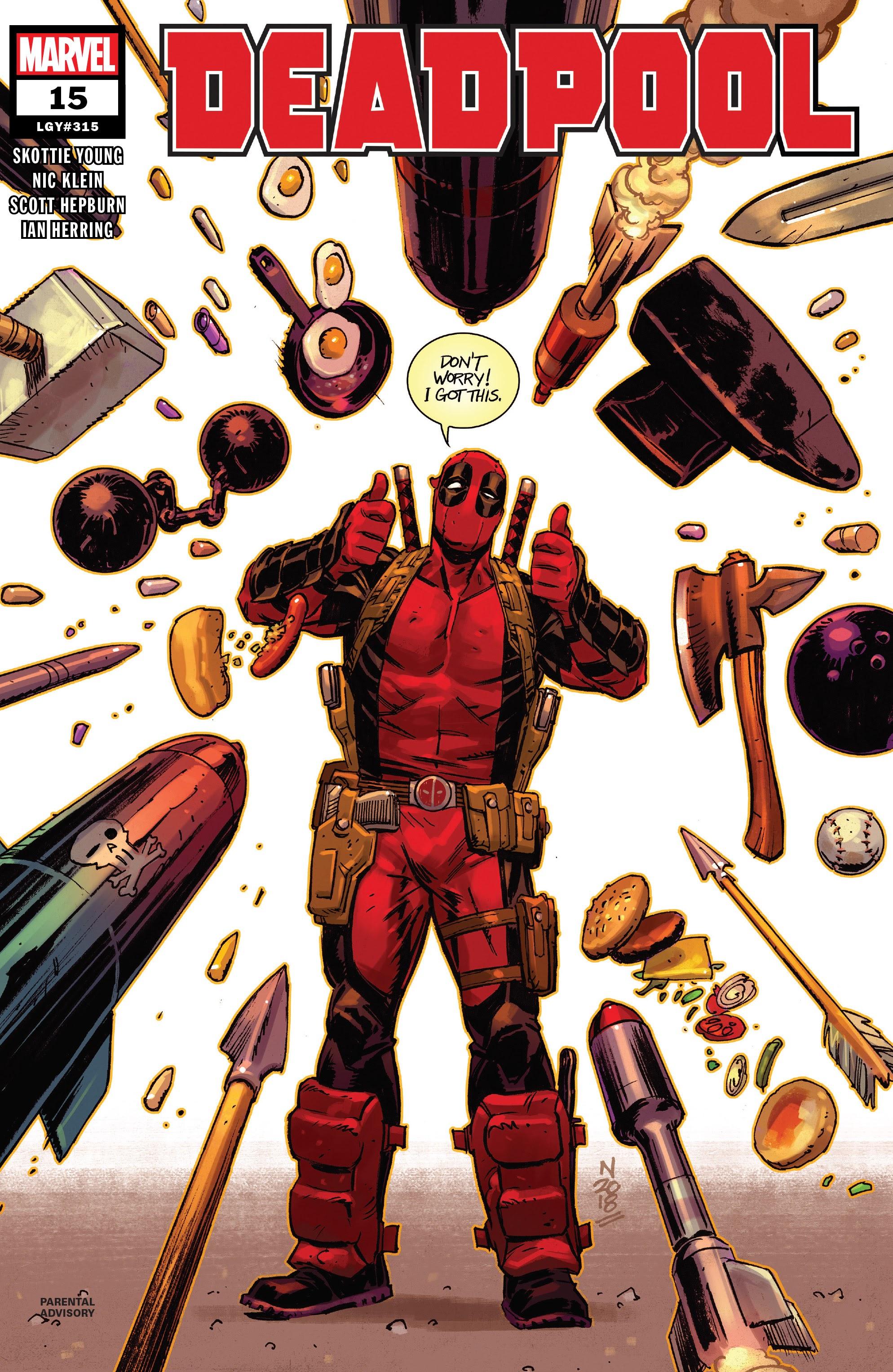 Deadpool (2018) 15 Page 1
