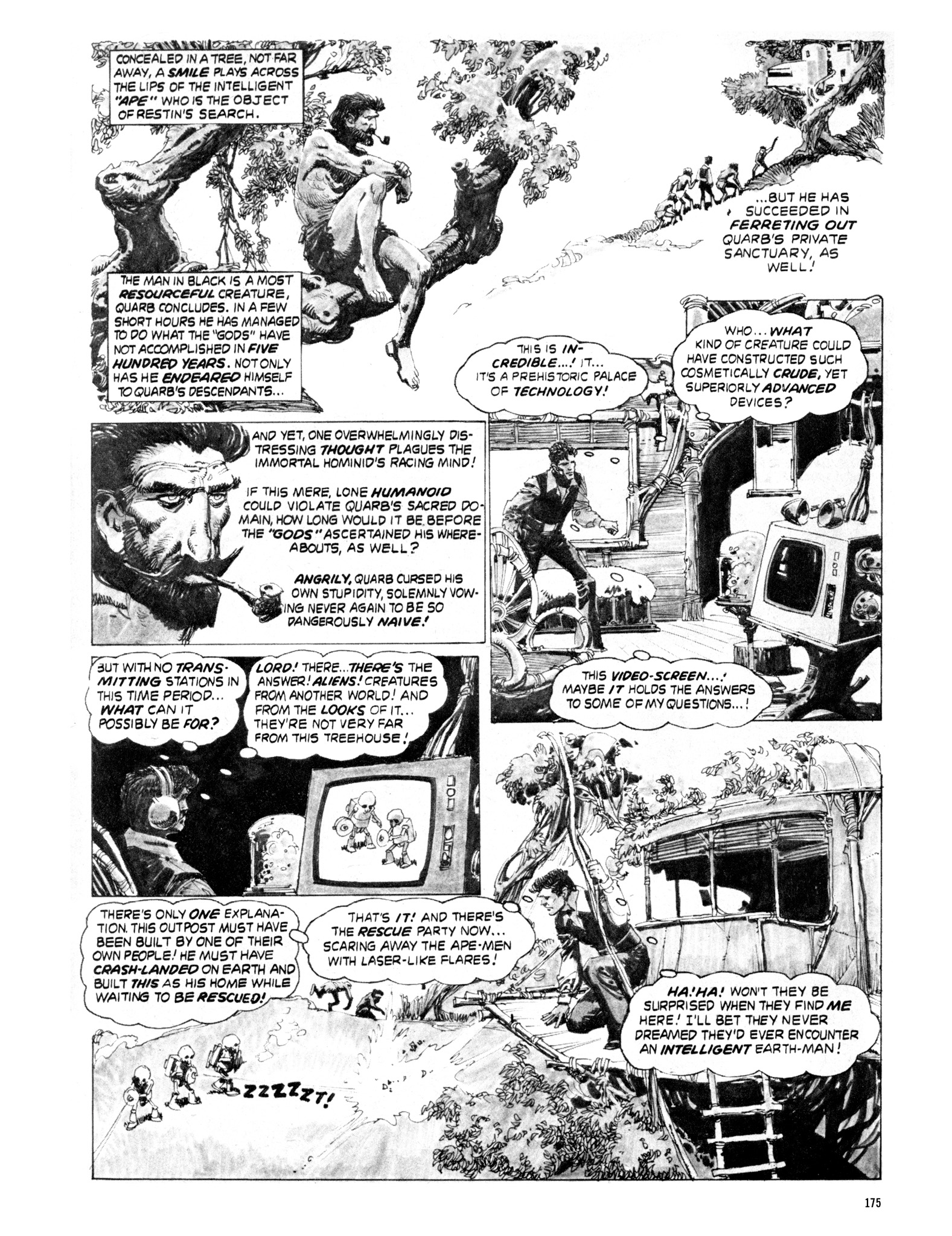 Read online Eerie Archives comic -  Issue # TPB 20 - 175