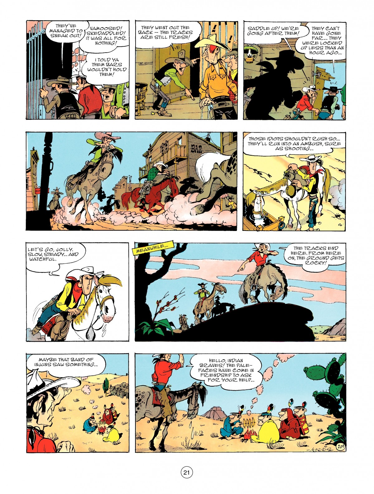 Read online A Lucky Luke Adventure comic -  Issue #47 - 21
