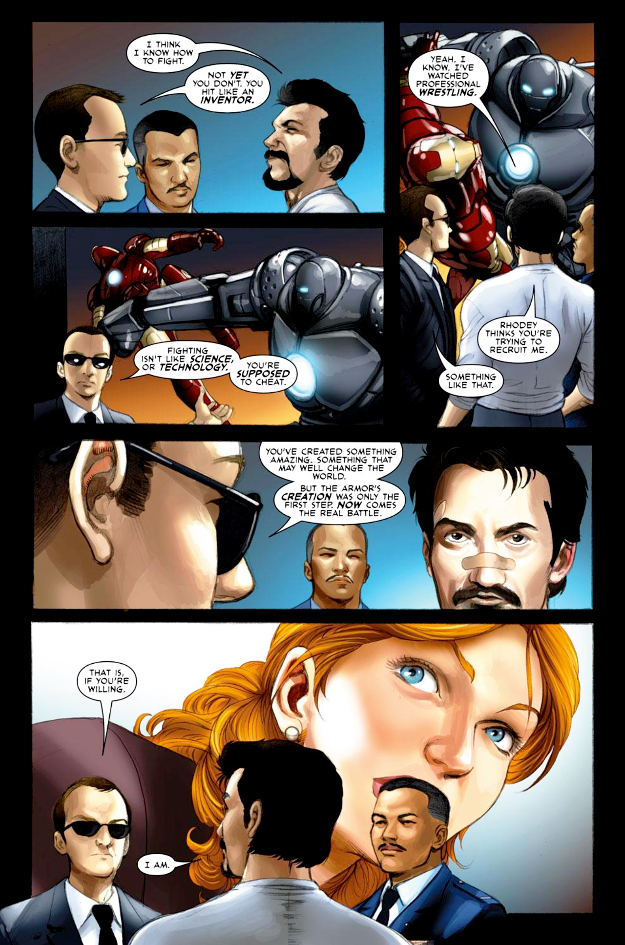 Read online Iron Man: Fast Friends comic -  Issue #2 - 4