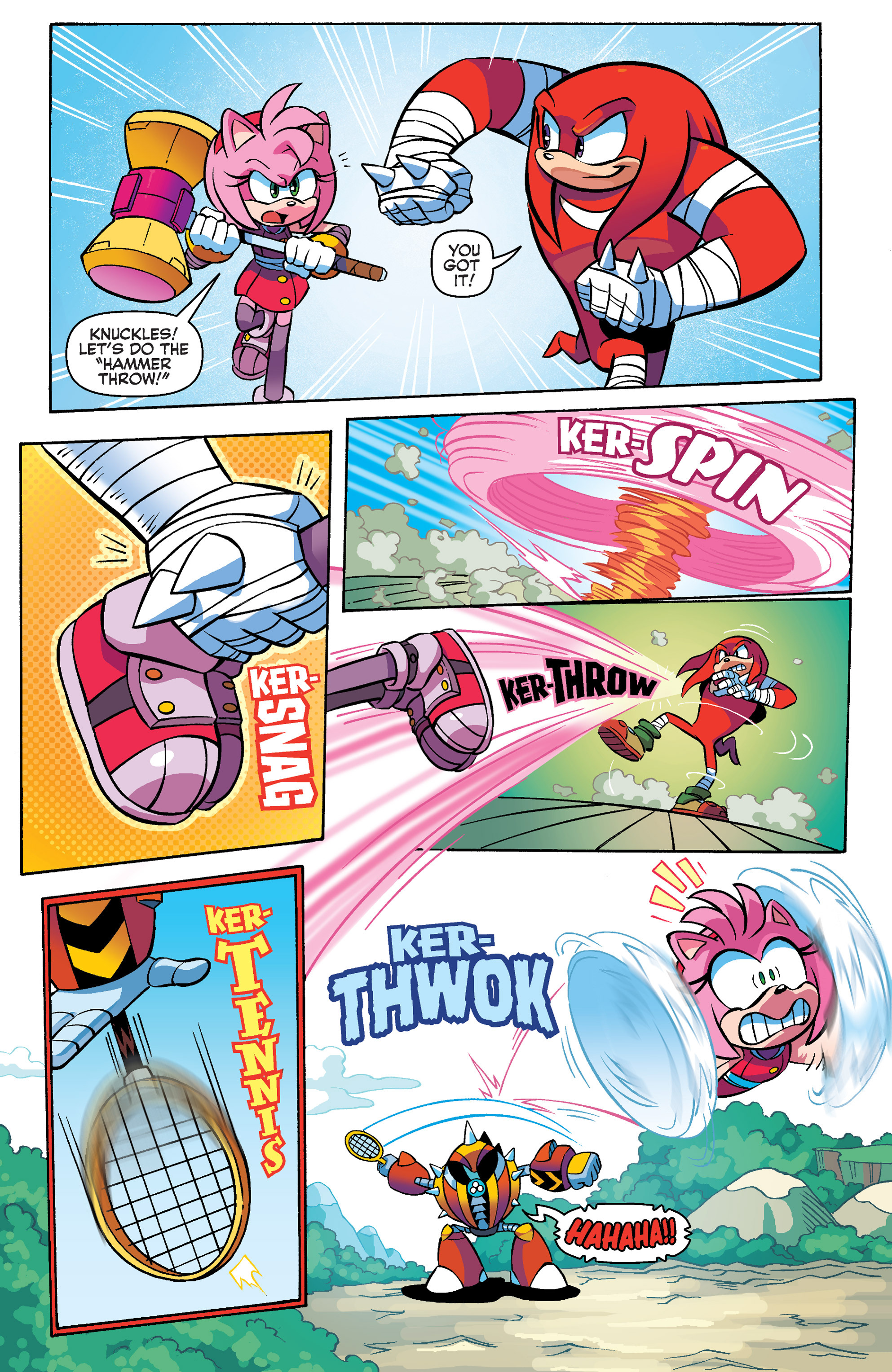 Read online Sonic Boom comic -  Issue #4 - 14