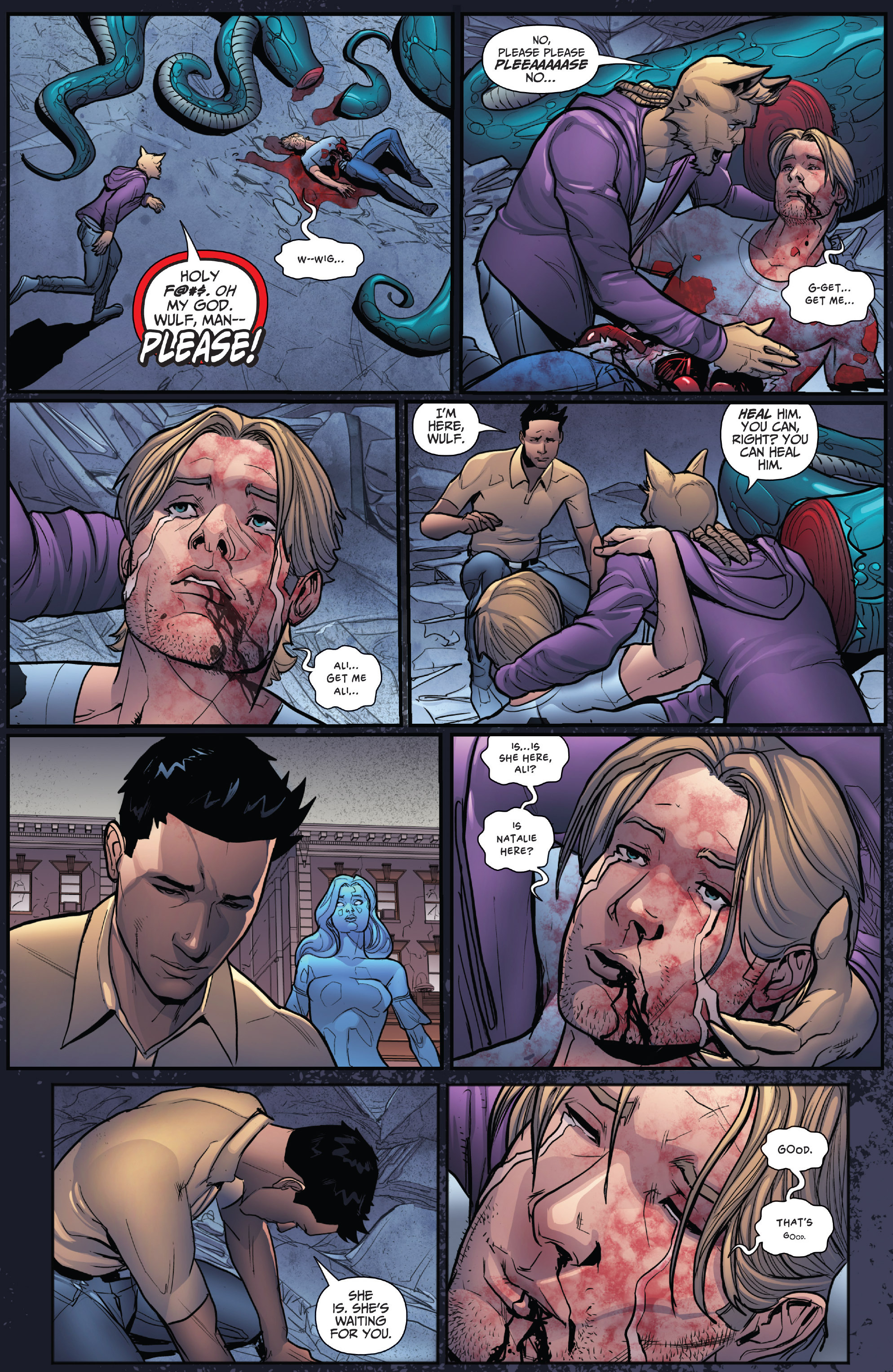 Read online Grimm Fairy Tales: Arcane Acre comic -  Issue # TPB 4 - 134