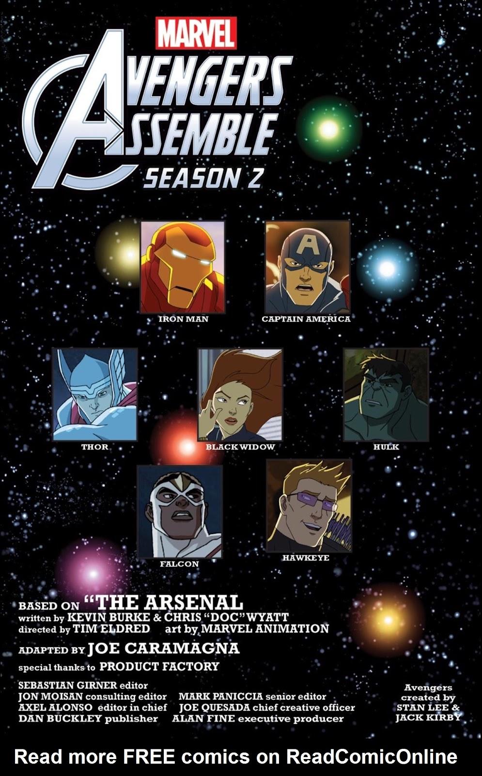 Read online Marvel Universe Avengers Assemble Season 2 comic -  Issue #1 - 7