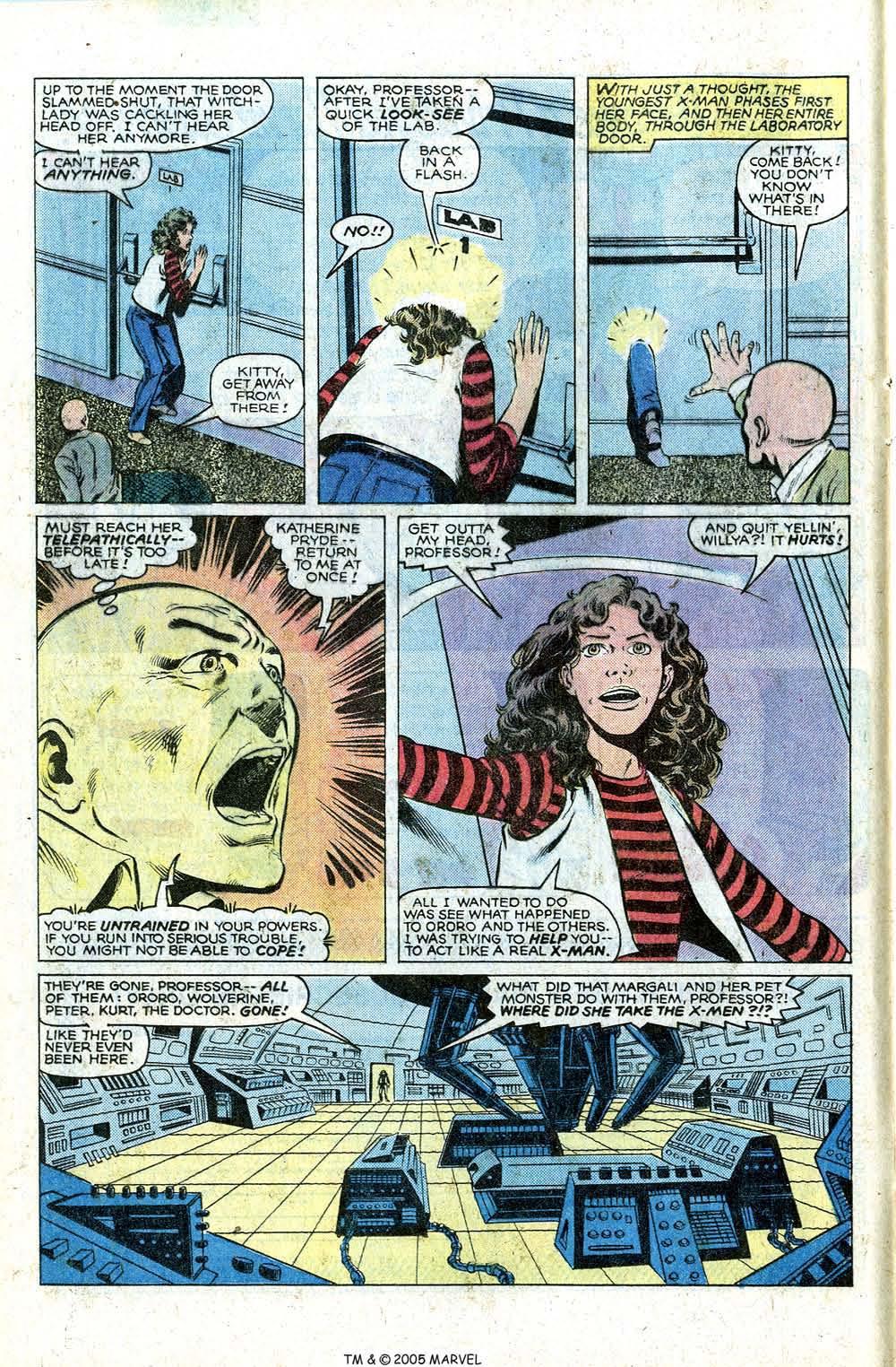Read online Uncanny X-Men (1963) comic -  Issue # _Annual 4 - 16