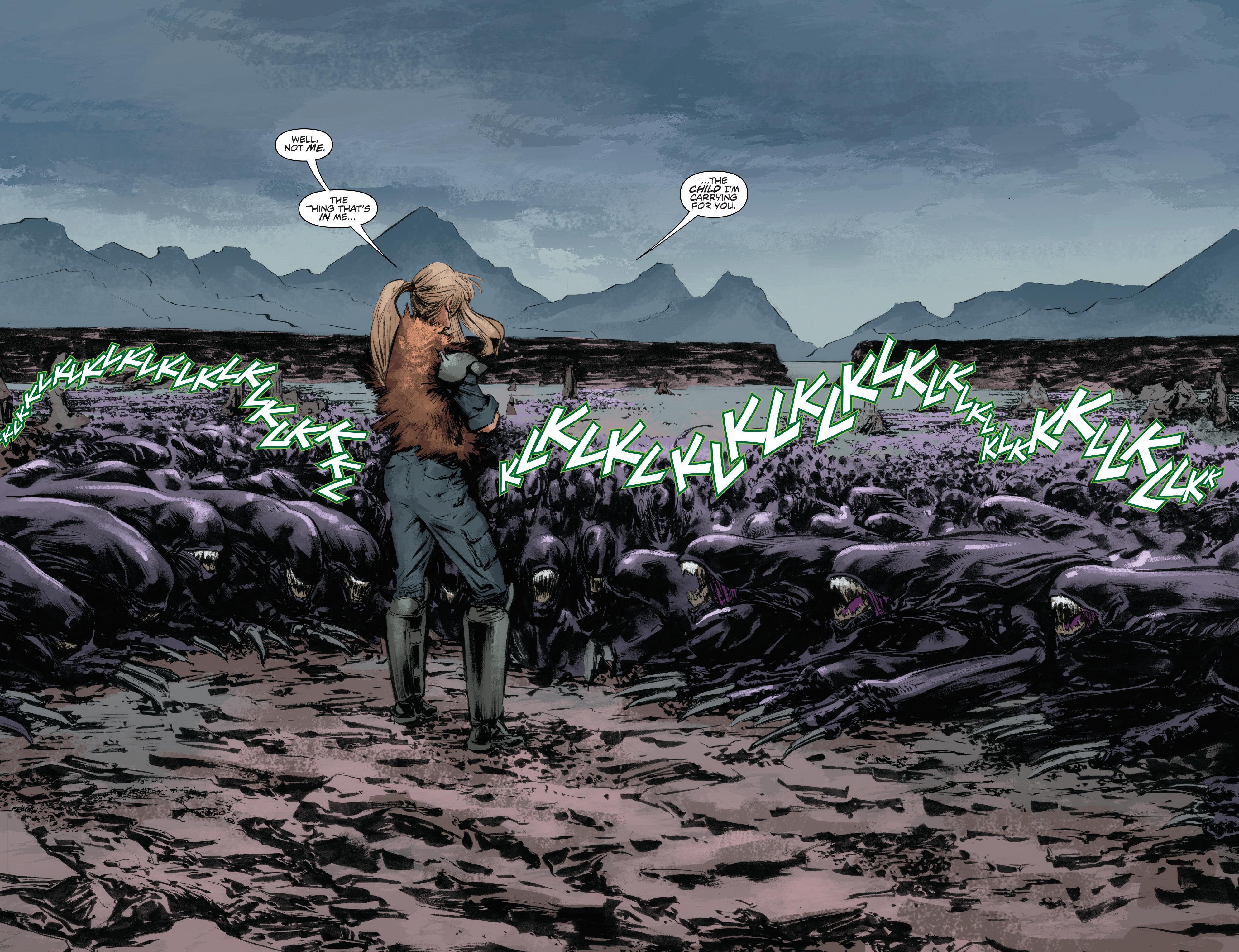 Read online Alien Vs. Predator: Life and Death comic -  Issue #4 - 4