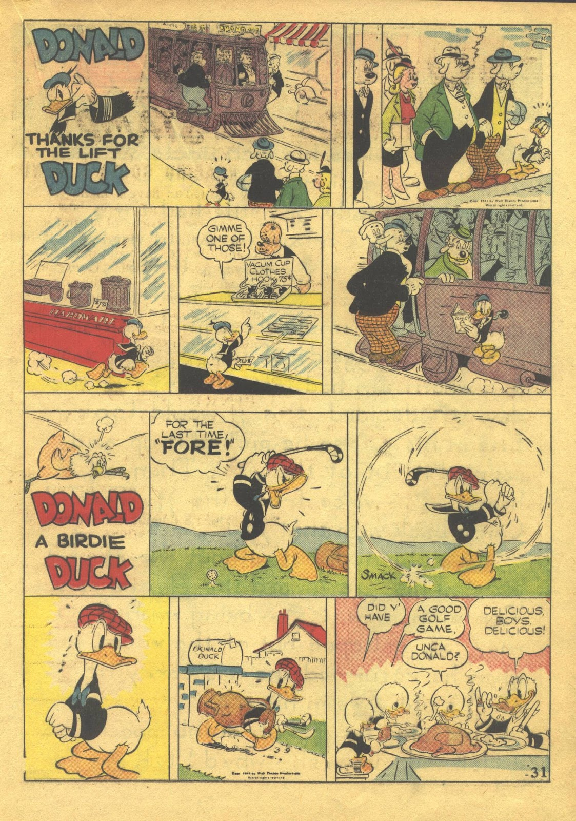 Walt Disney's Comics and Stories issue 39 - Page 33