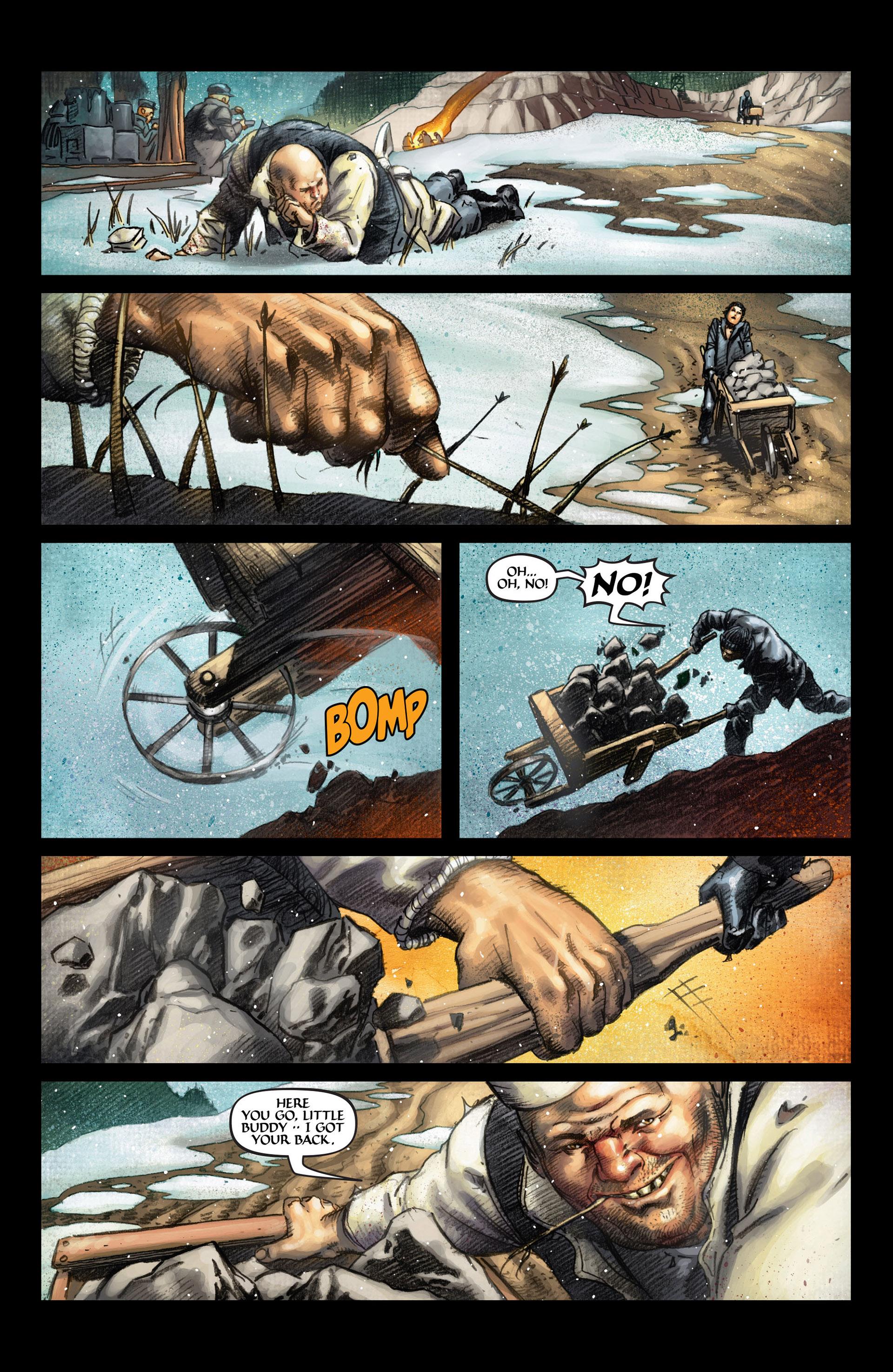 Read online Wolverine: The Origin comic -  Issue #4 - 5