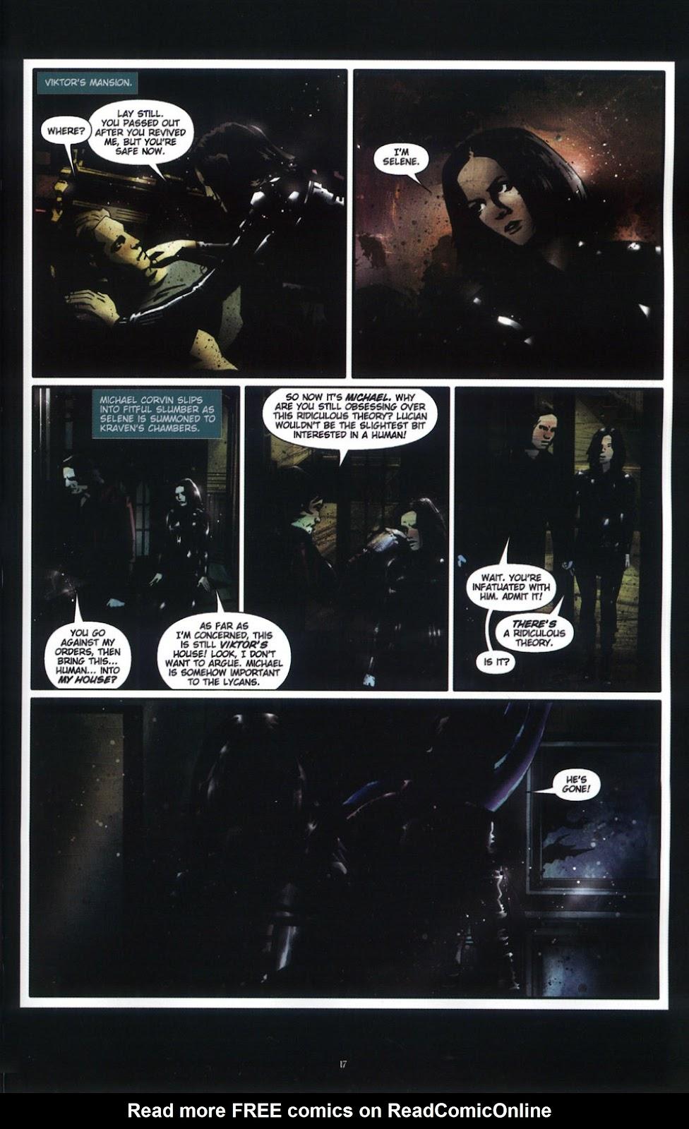 Read online Underworld (2003) comic -  Issue # Full - 19
