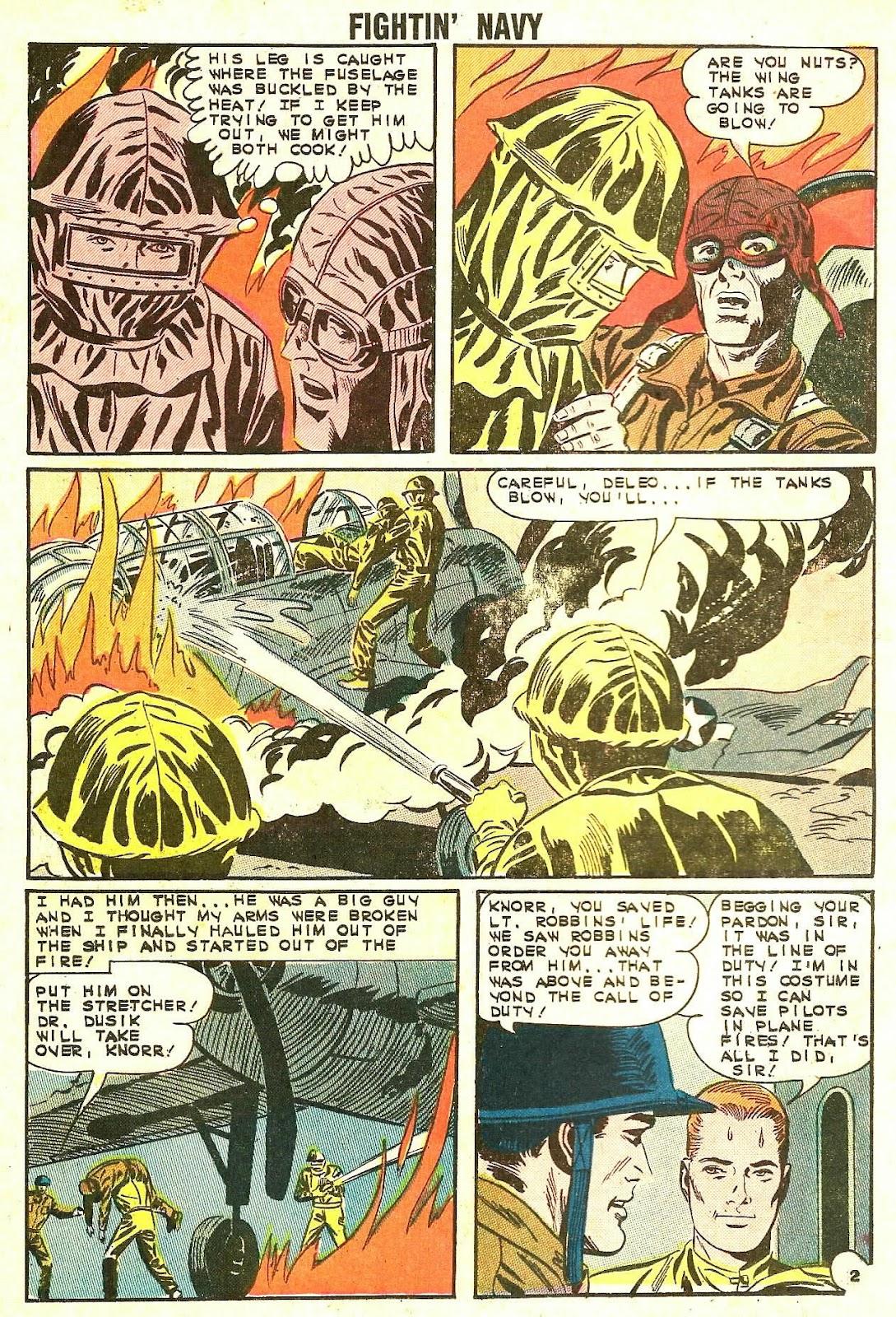 Read online Fightin' Navy comic -  Issue #114 - 26