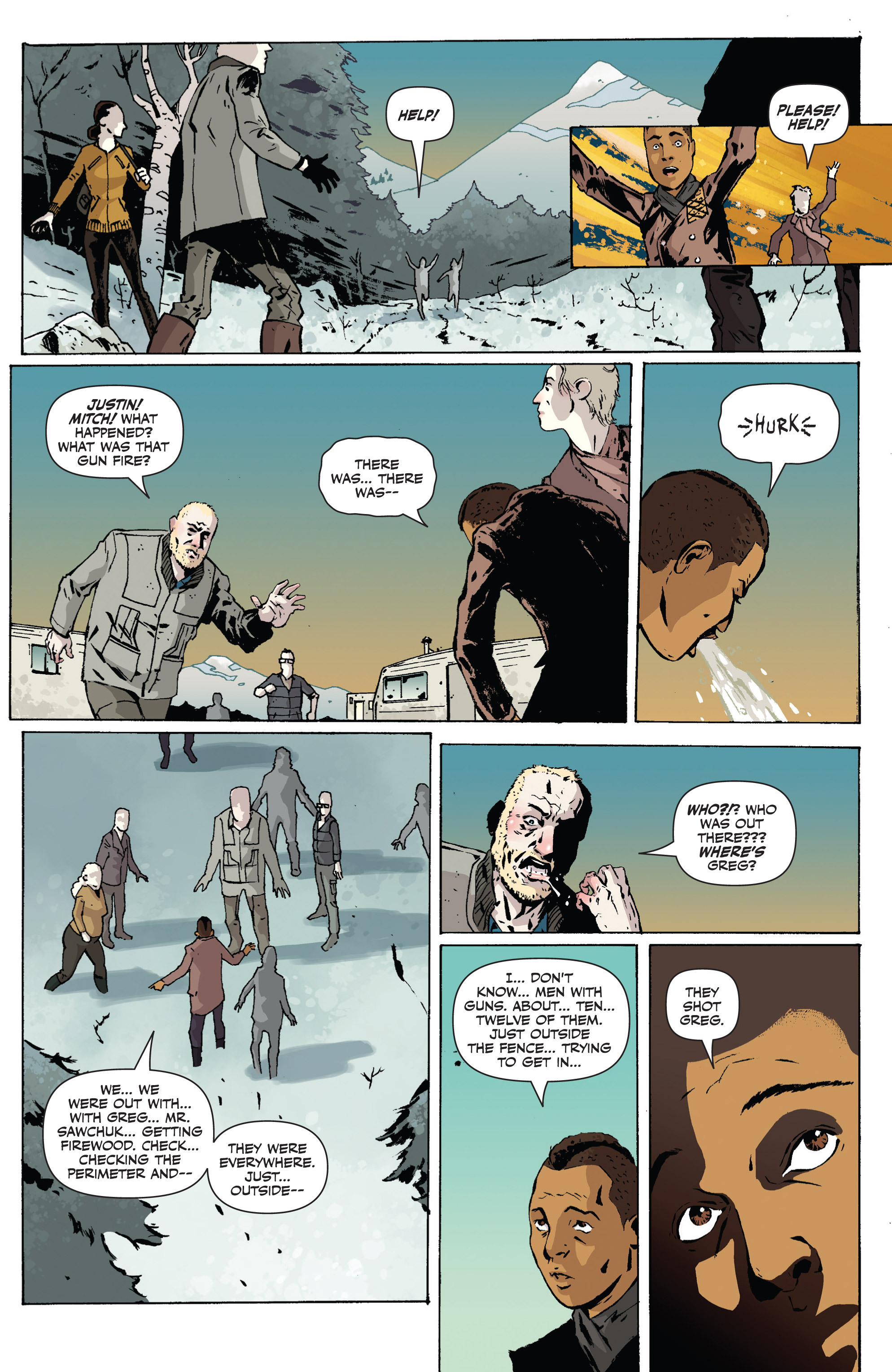 Read online Sheltered comic -  Issue #1 - 14