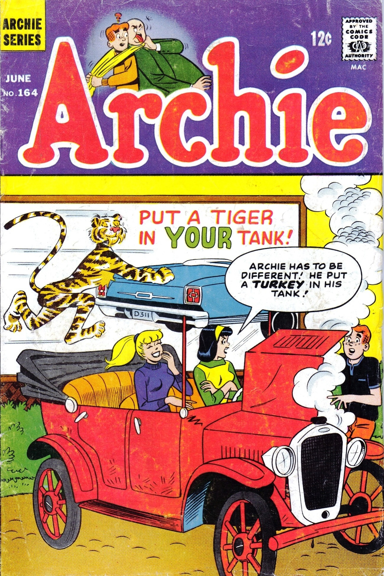 Read online Archie (1960) comic -  Issue #164 - 1