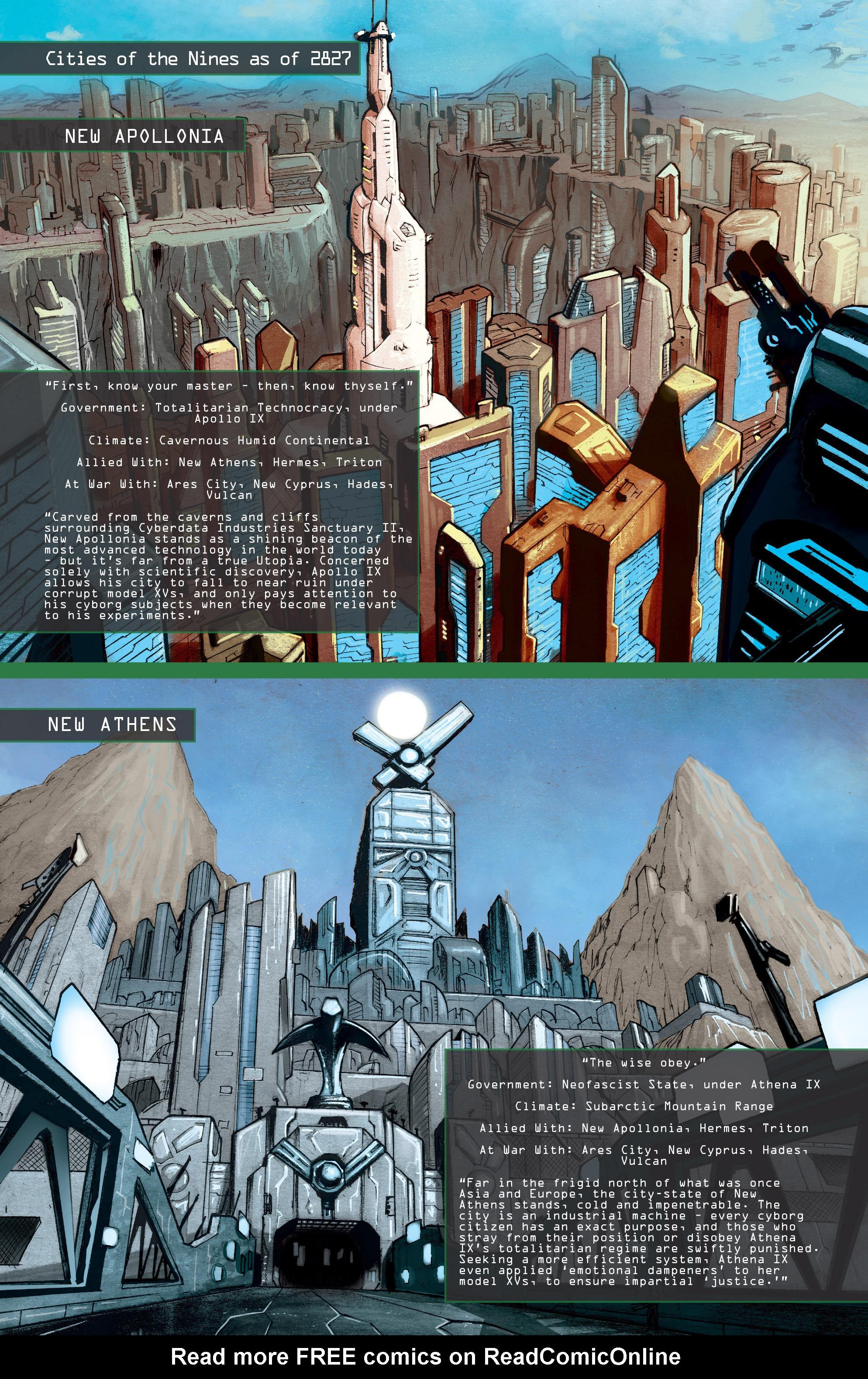 Read online IXth Generation Hidden Files comic -  Issue #1 - 12