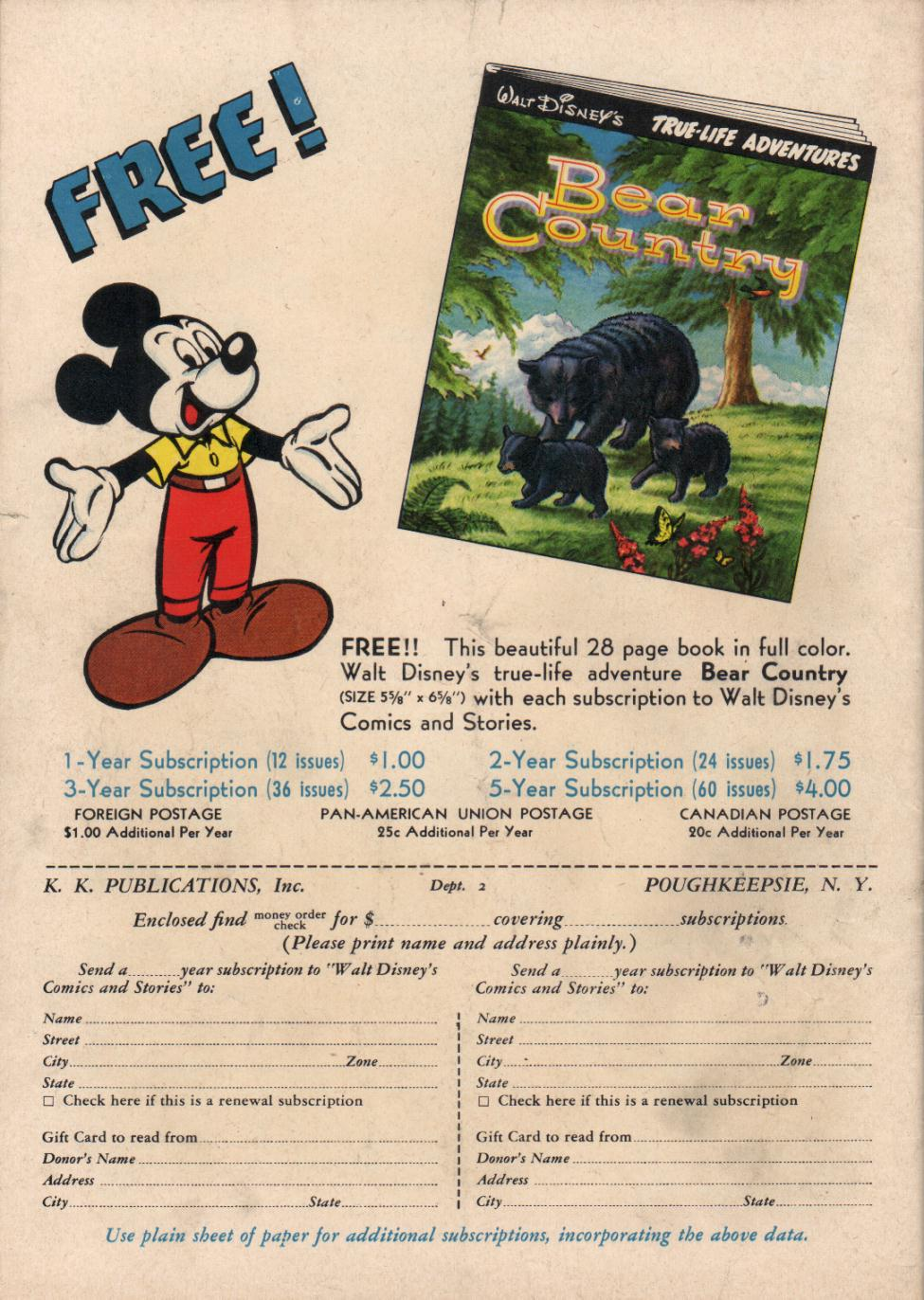 Walt Disney's Comics and Stories issue 197 - Page 36
